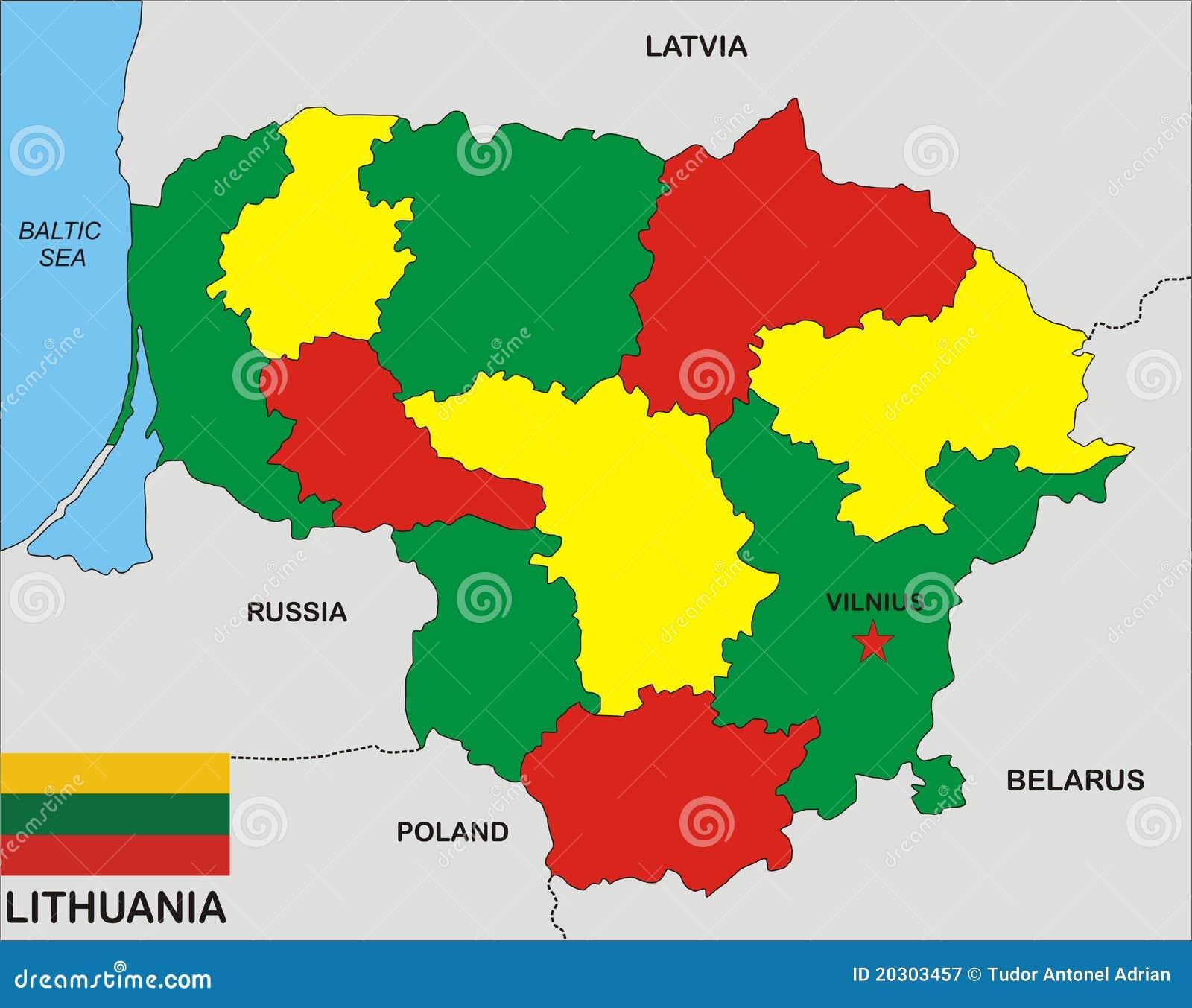 Correspondencia de Lituania