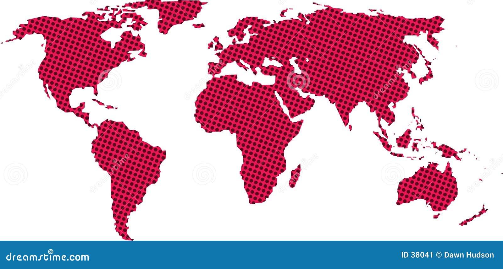 Download Correspondencia de mundo stock de ilustración. Ilustración de geografía - 38041