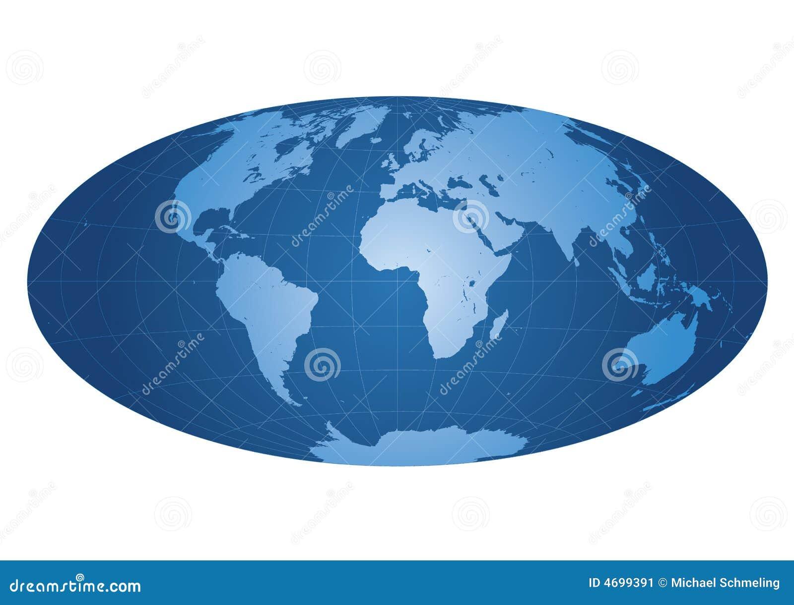 Correspondencia de mundo centrada en África