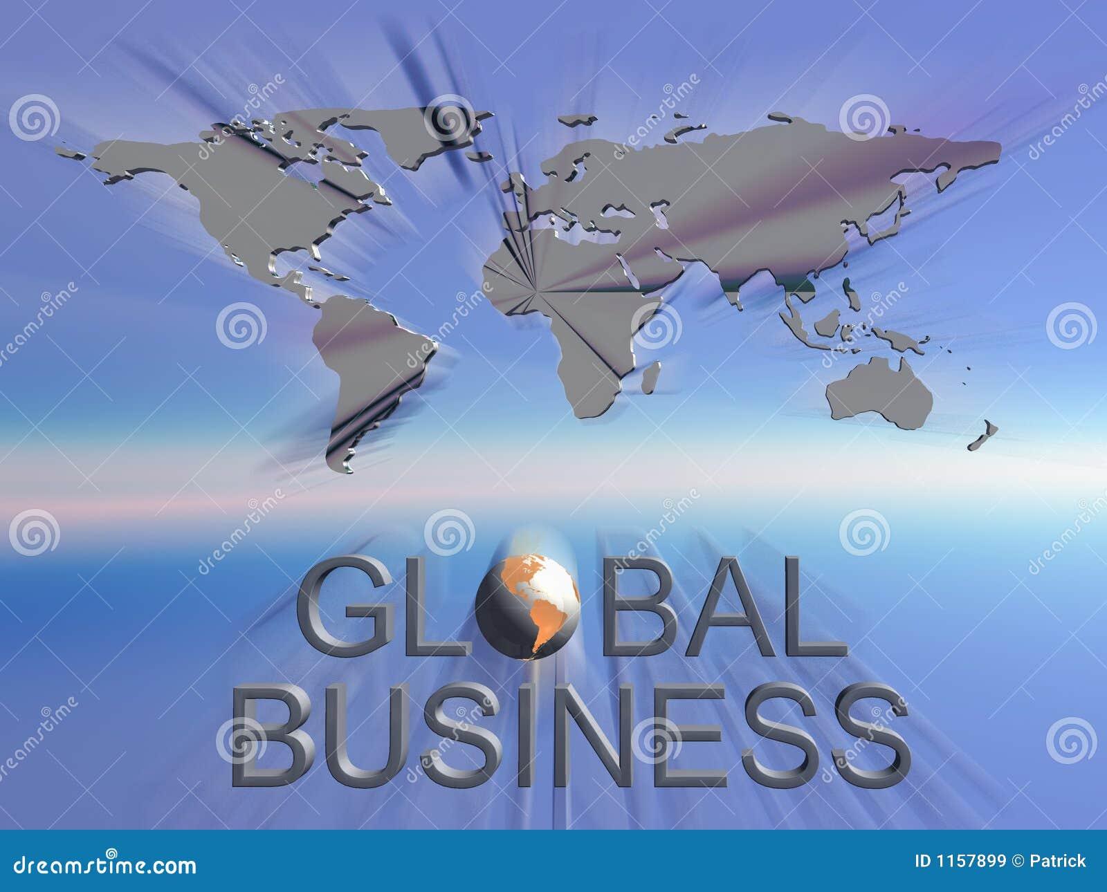 Correspondencia de mundo del asunto global