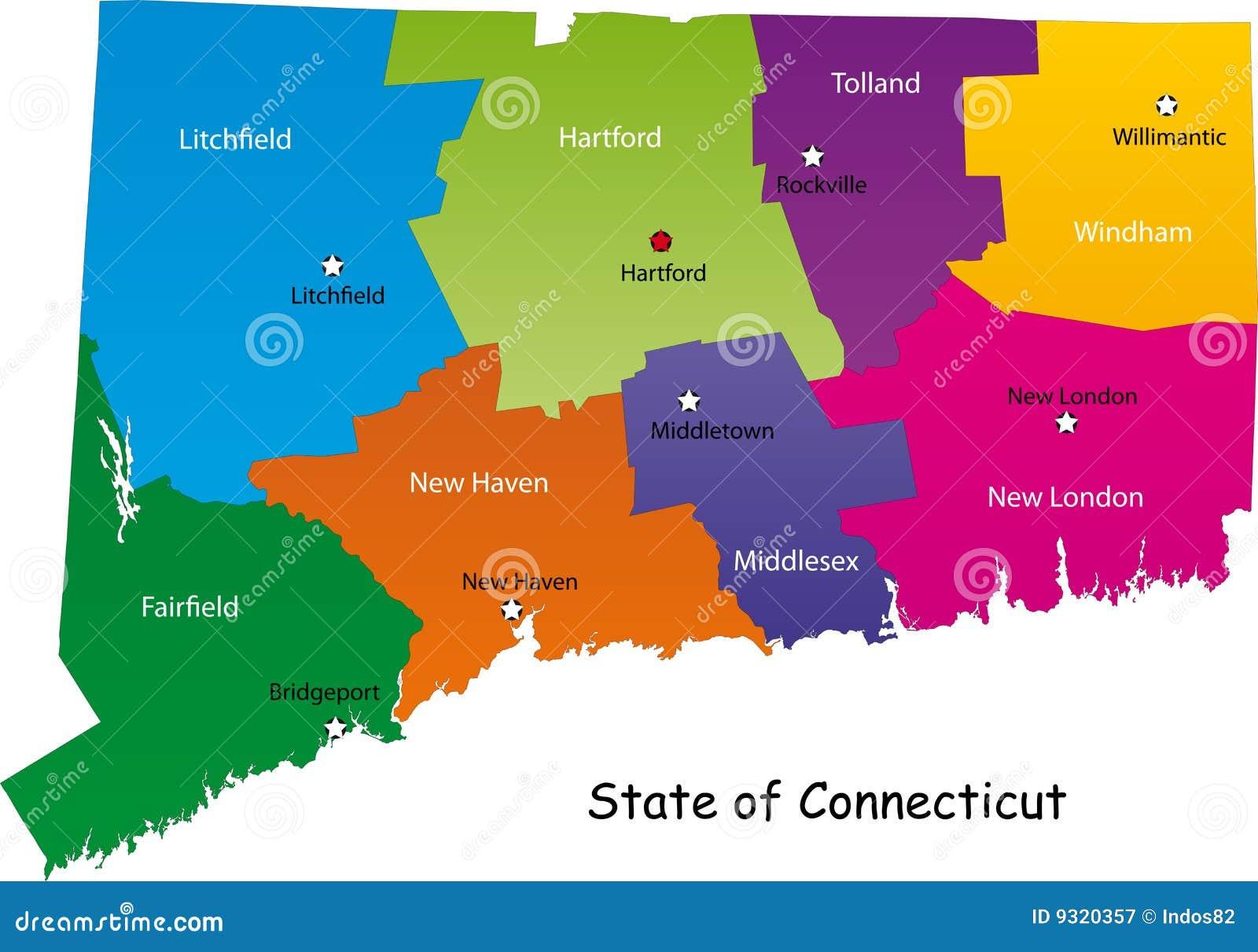 Correspondencia del estado de Connecticut