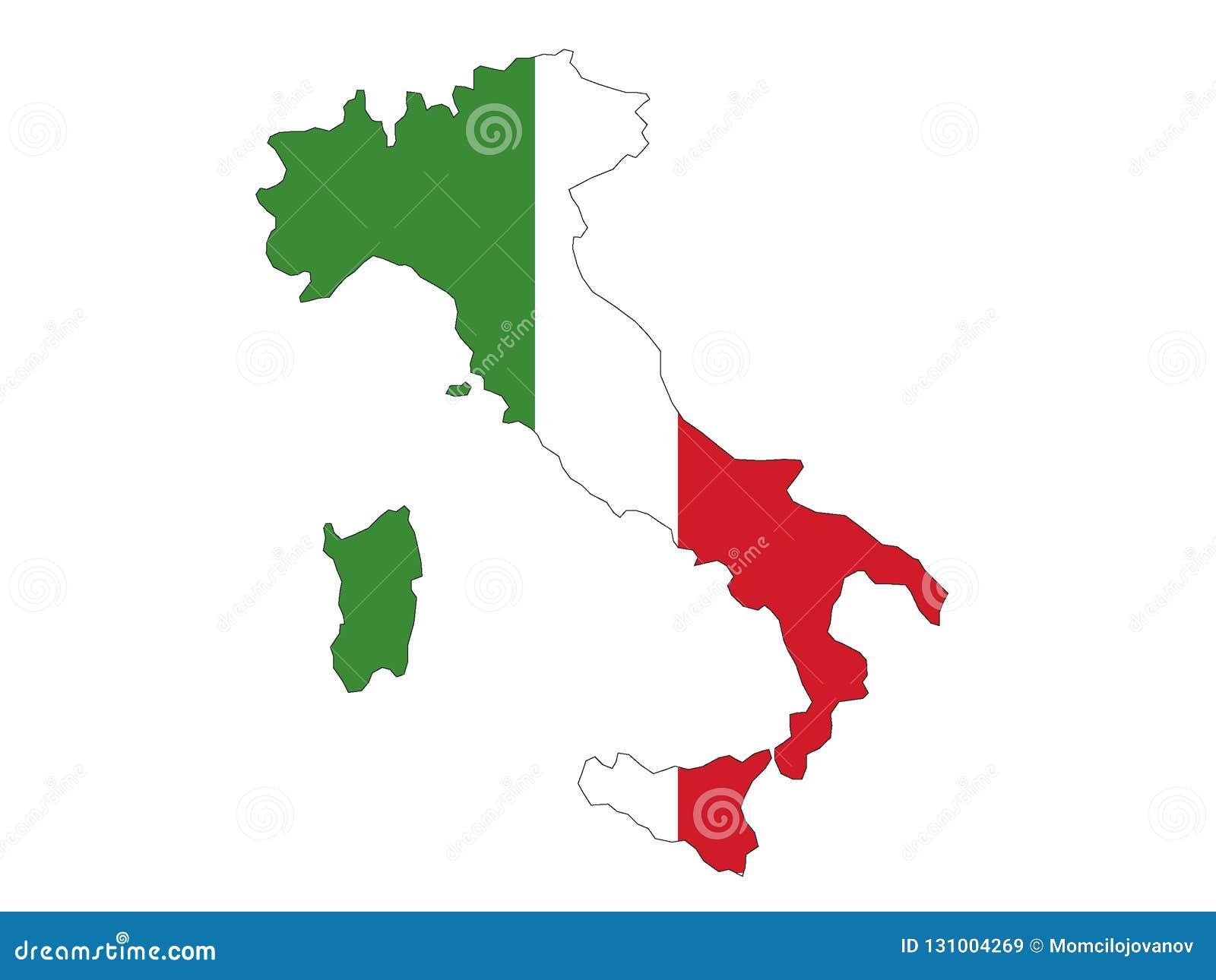 Correspondencia e indicador de Italia