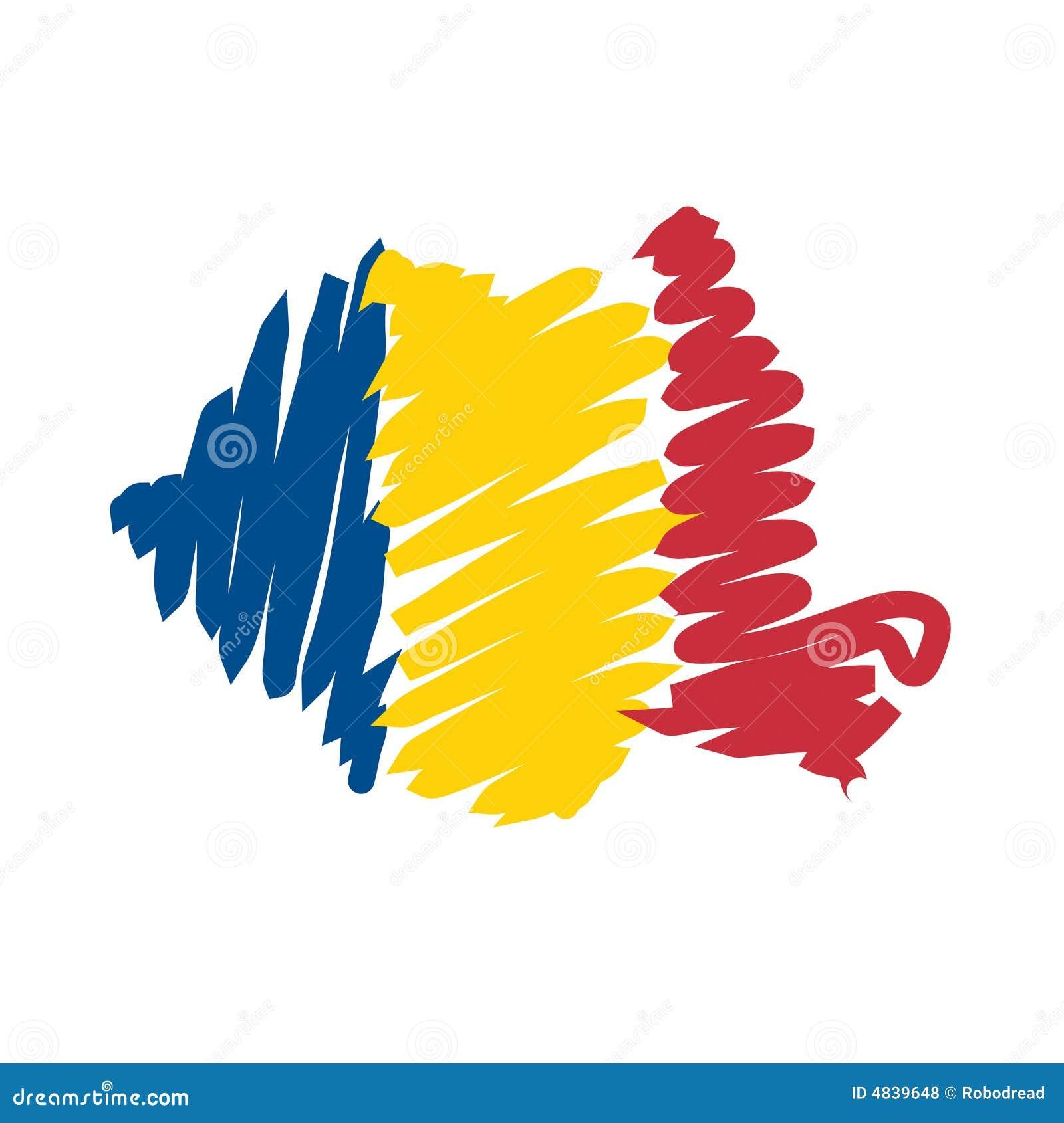 Correspondencia Rumania del vector