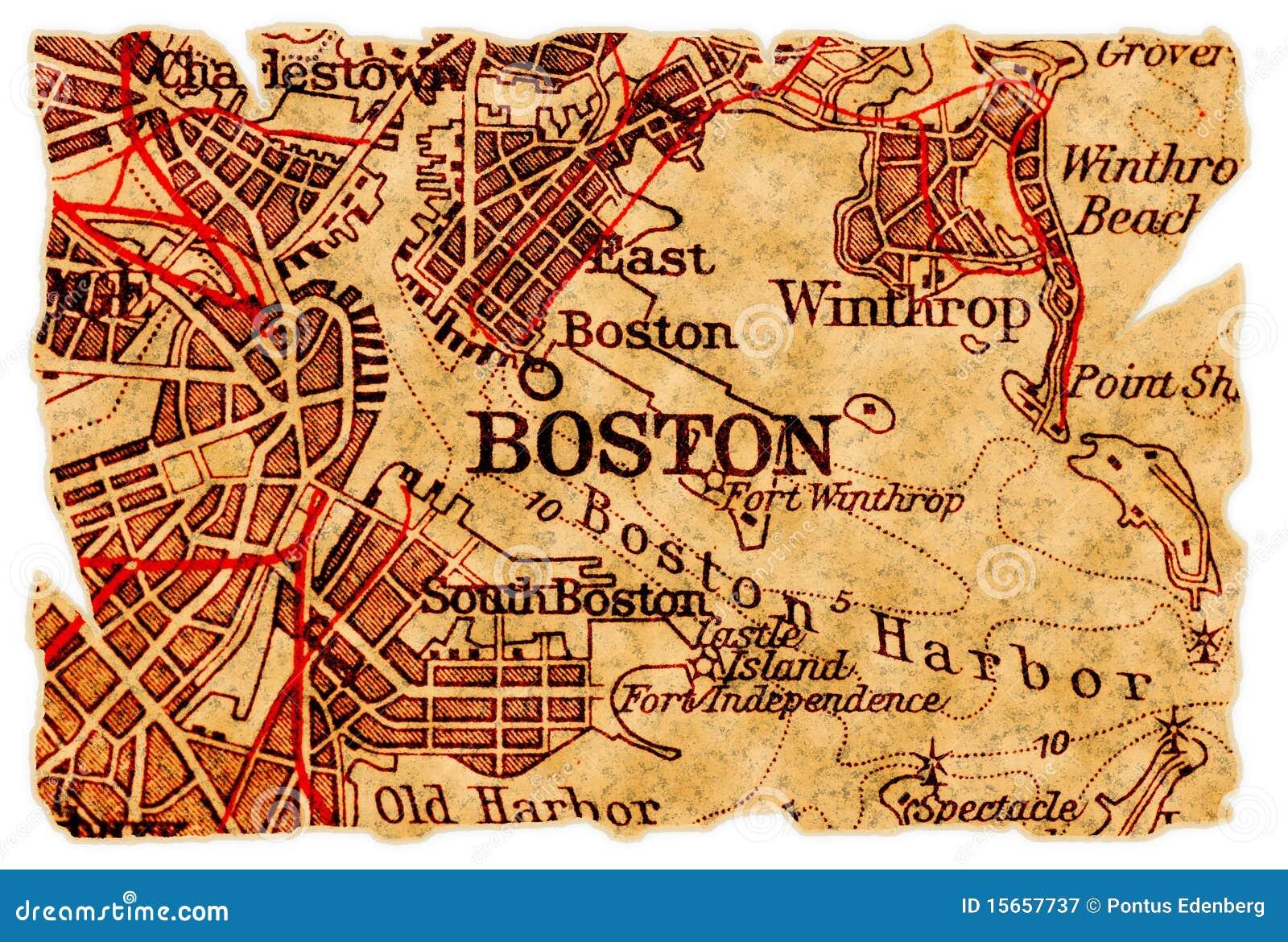 Correspondencia vieja de Boston