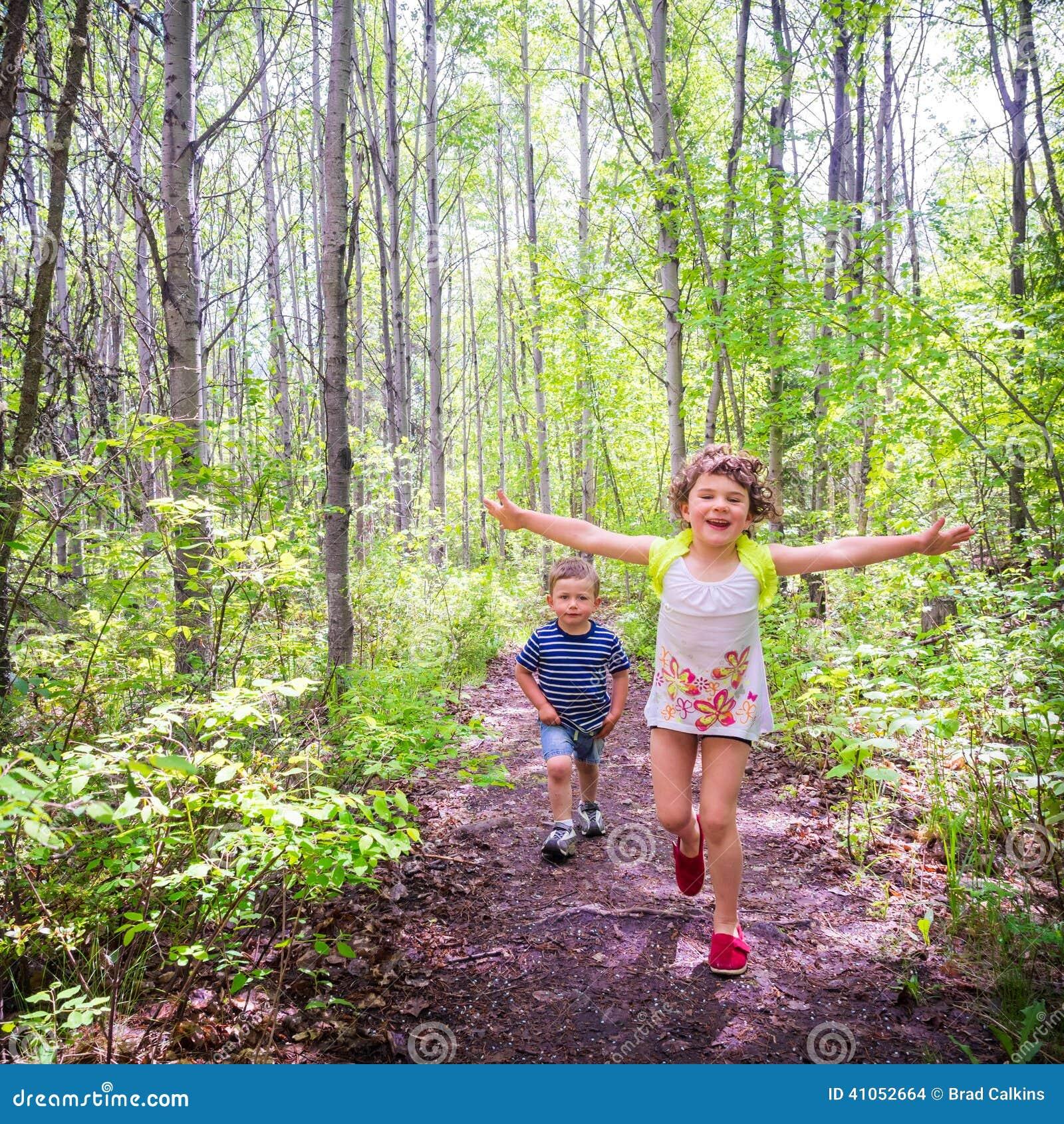 Corrida das crianças