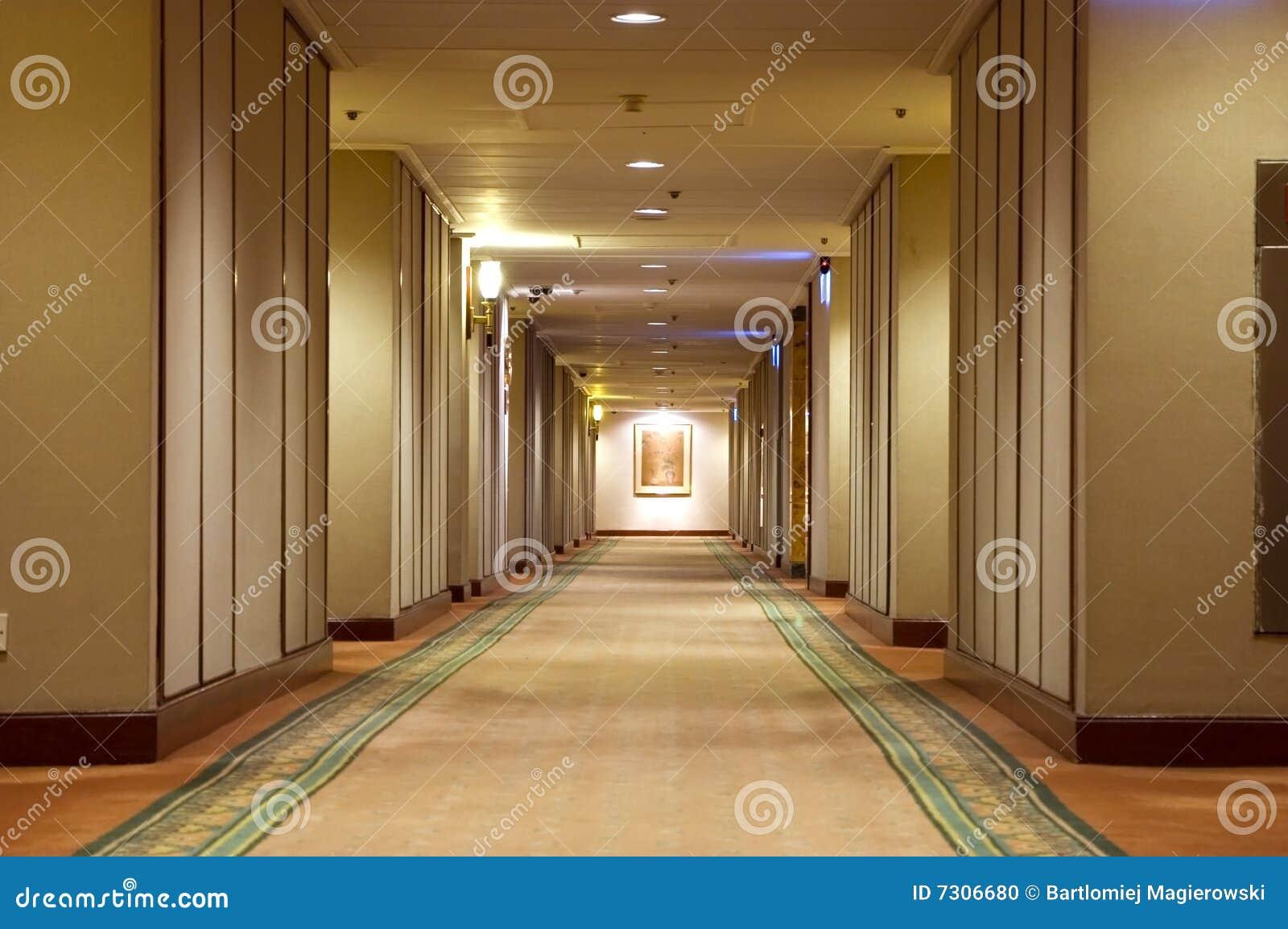 Corridoio in hotel