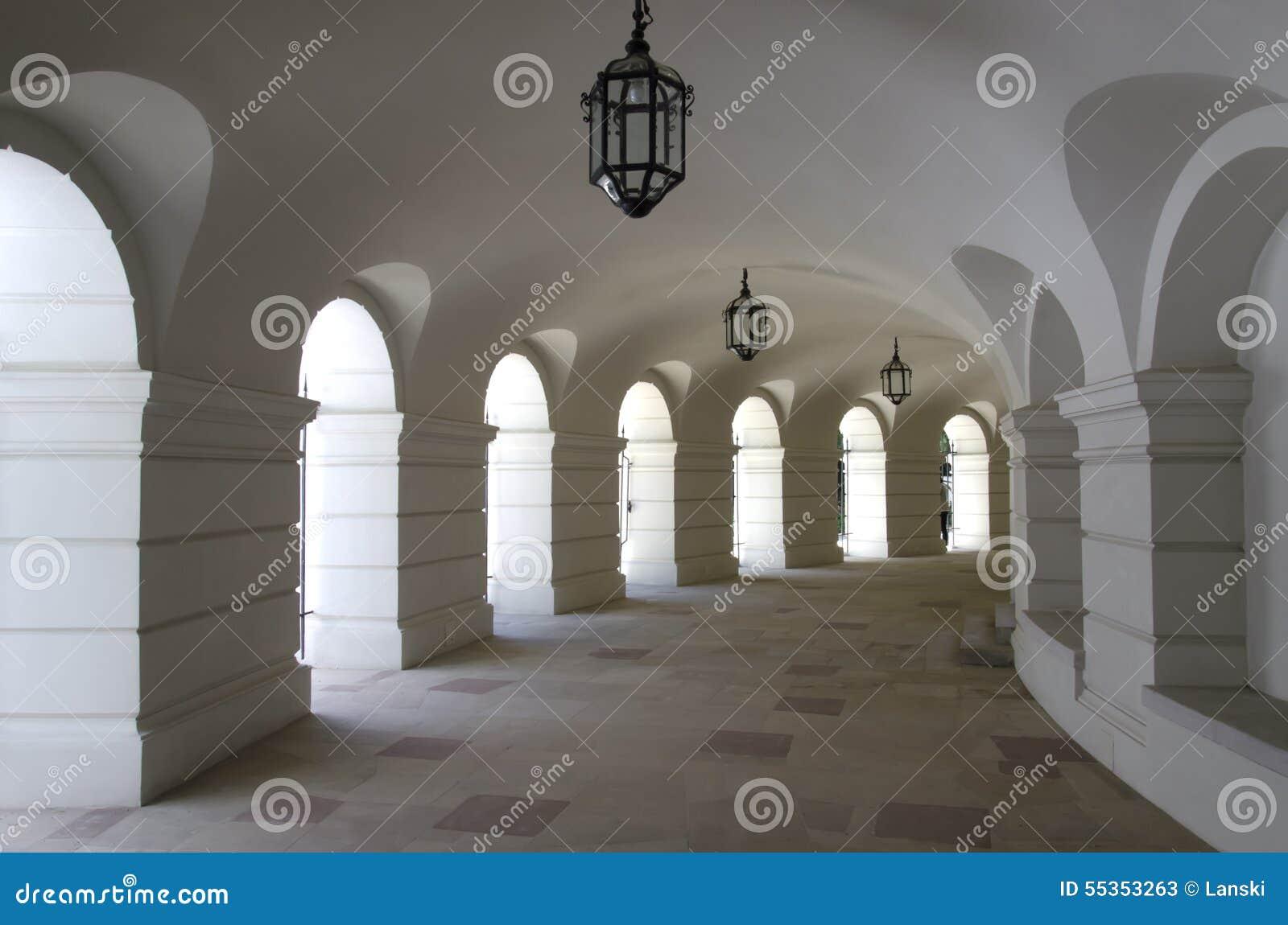Corridoio medioevale