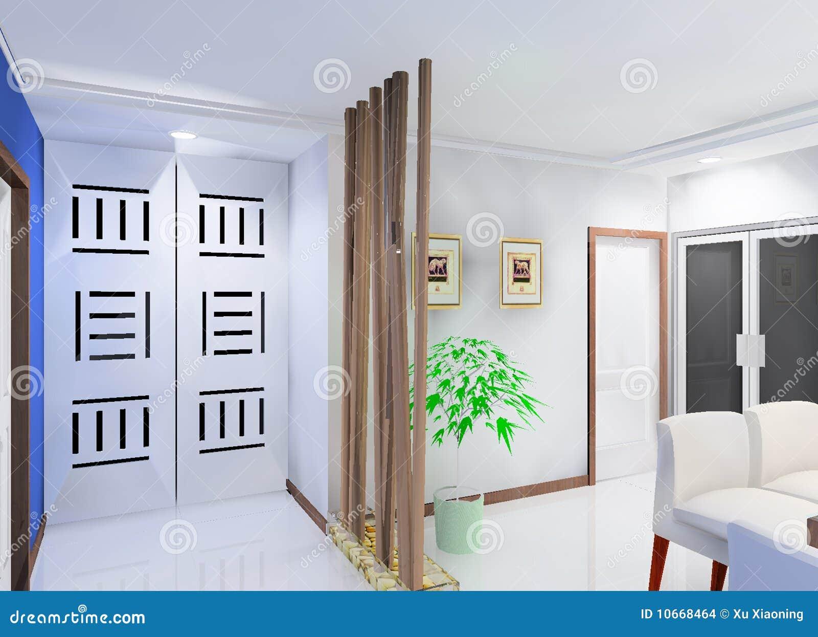 Corridor Design: Corridor Design Stock Illustration. Illustration Of Room
