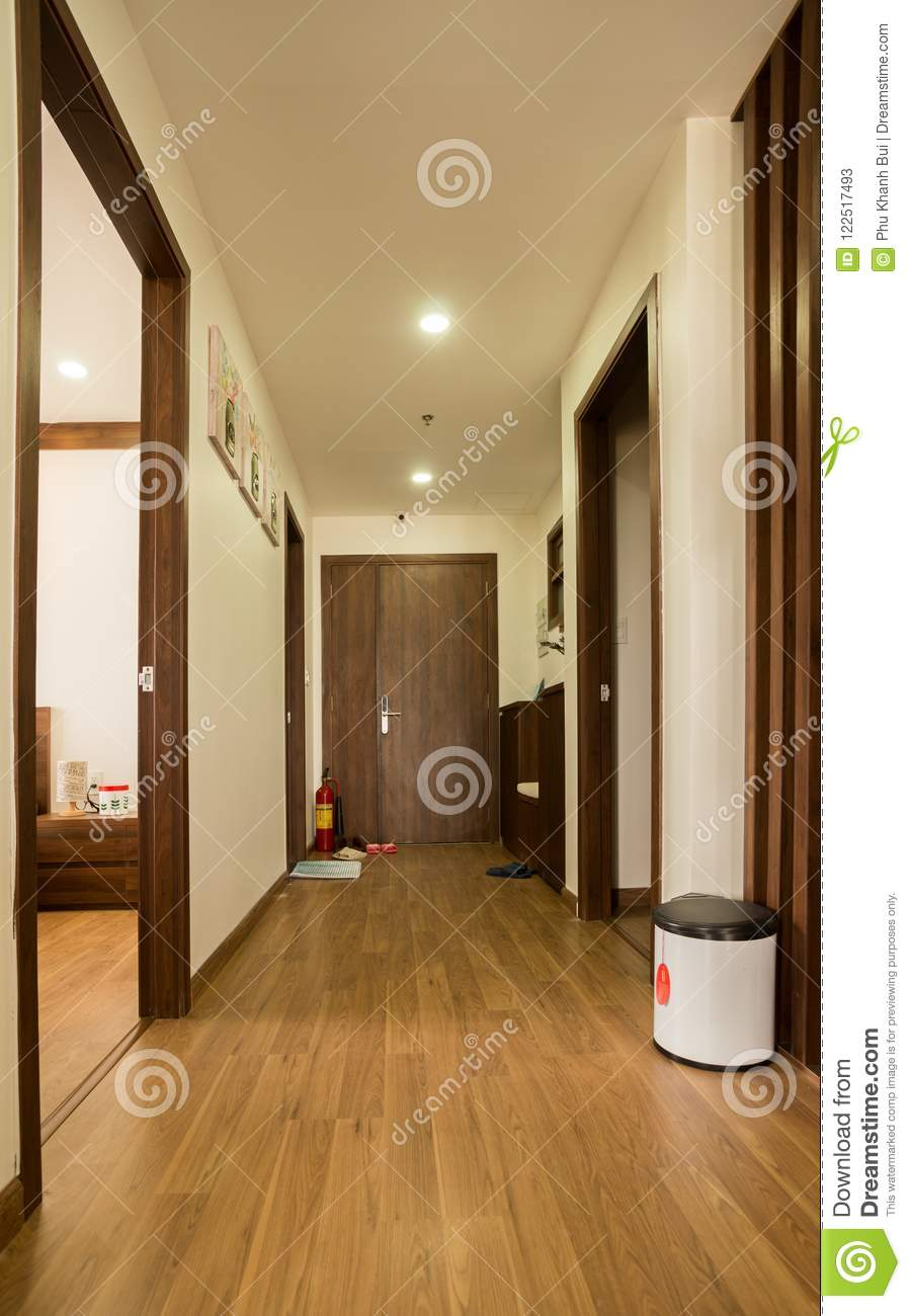 Long Corridor Home Design Ideas, Pictures, Remodel and Decor |House Corridors