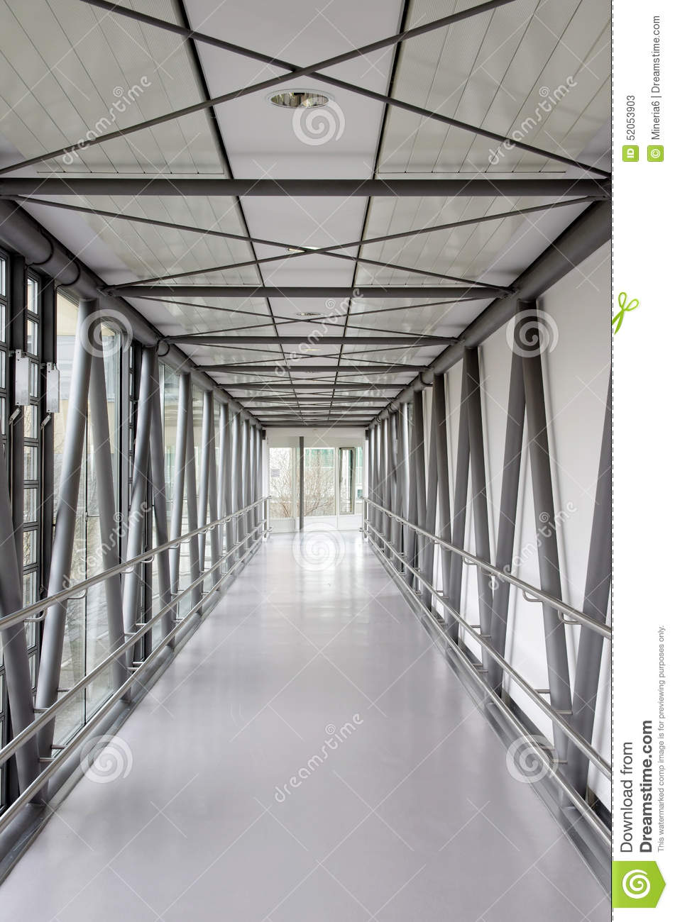 Corridor In A Modern Hospital Stock Image Image Of