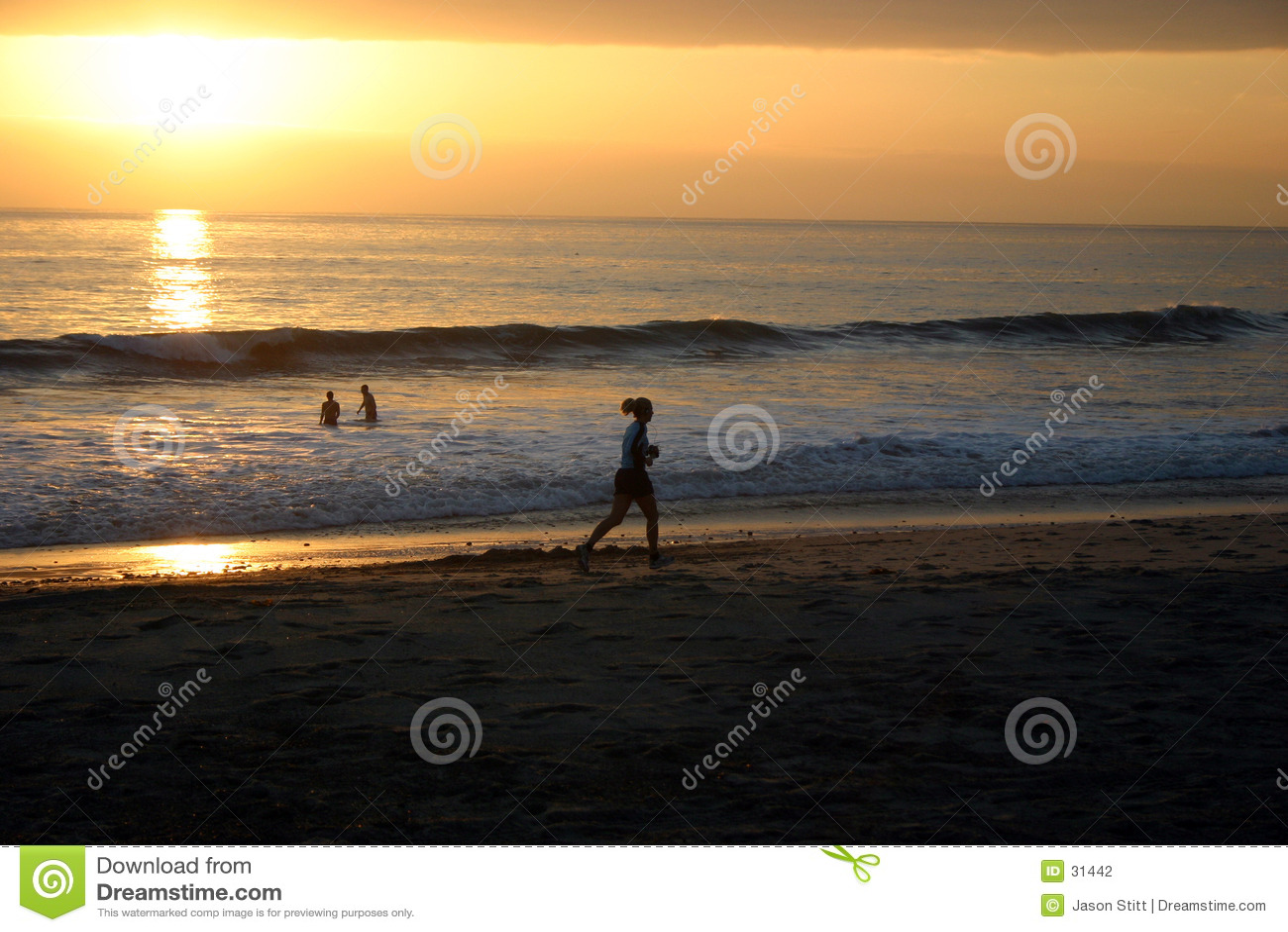 Corridore di tramonto