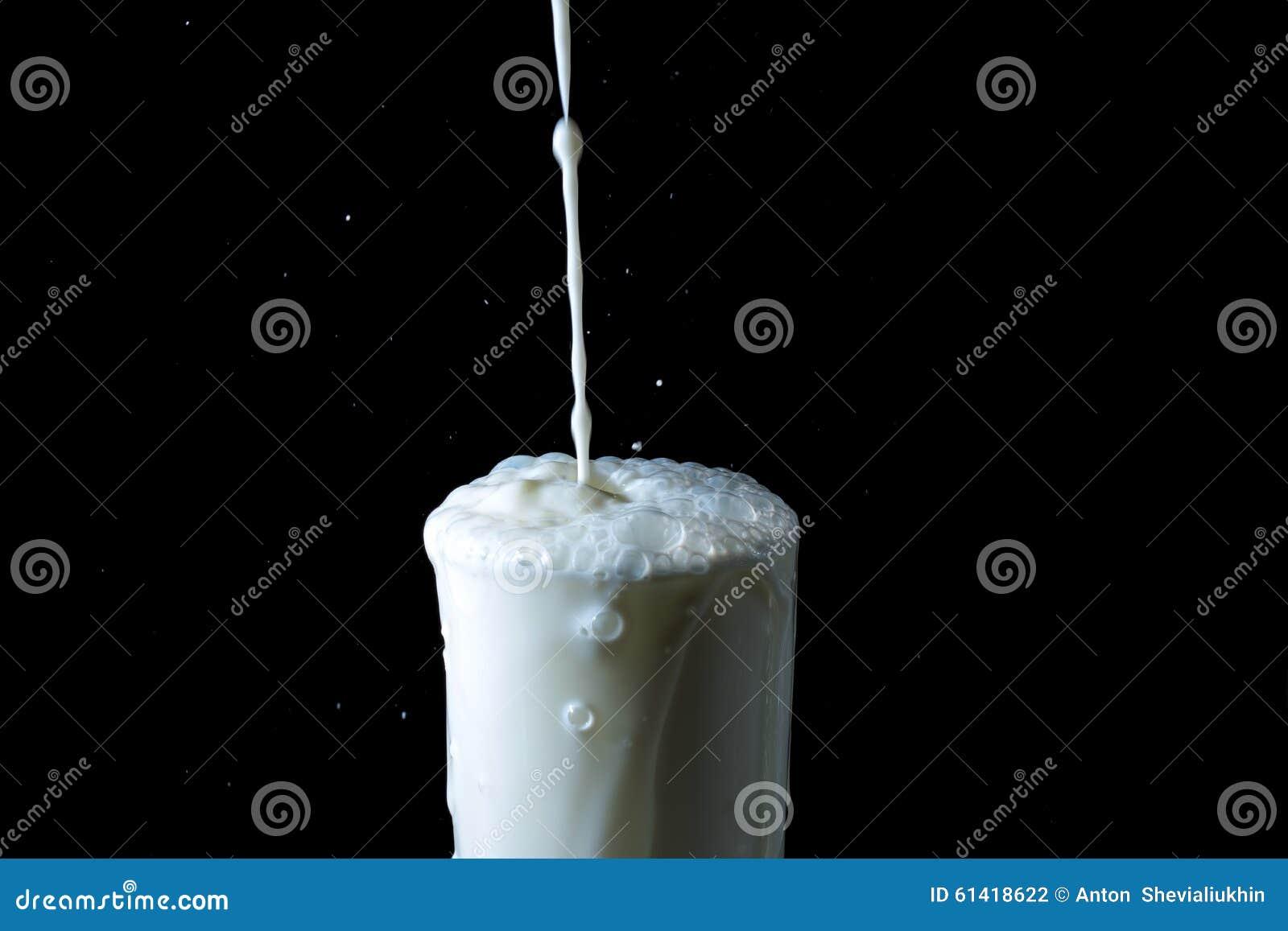 página web negro chorreo de leche