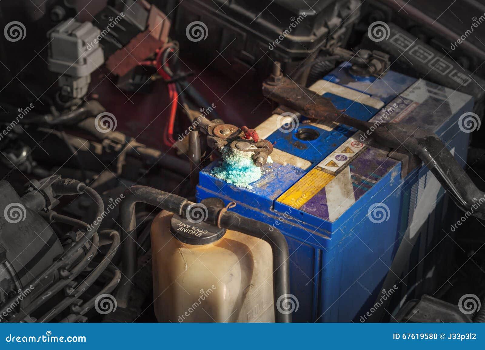 Corrosão da bateria