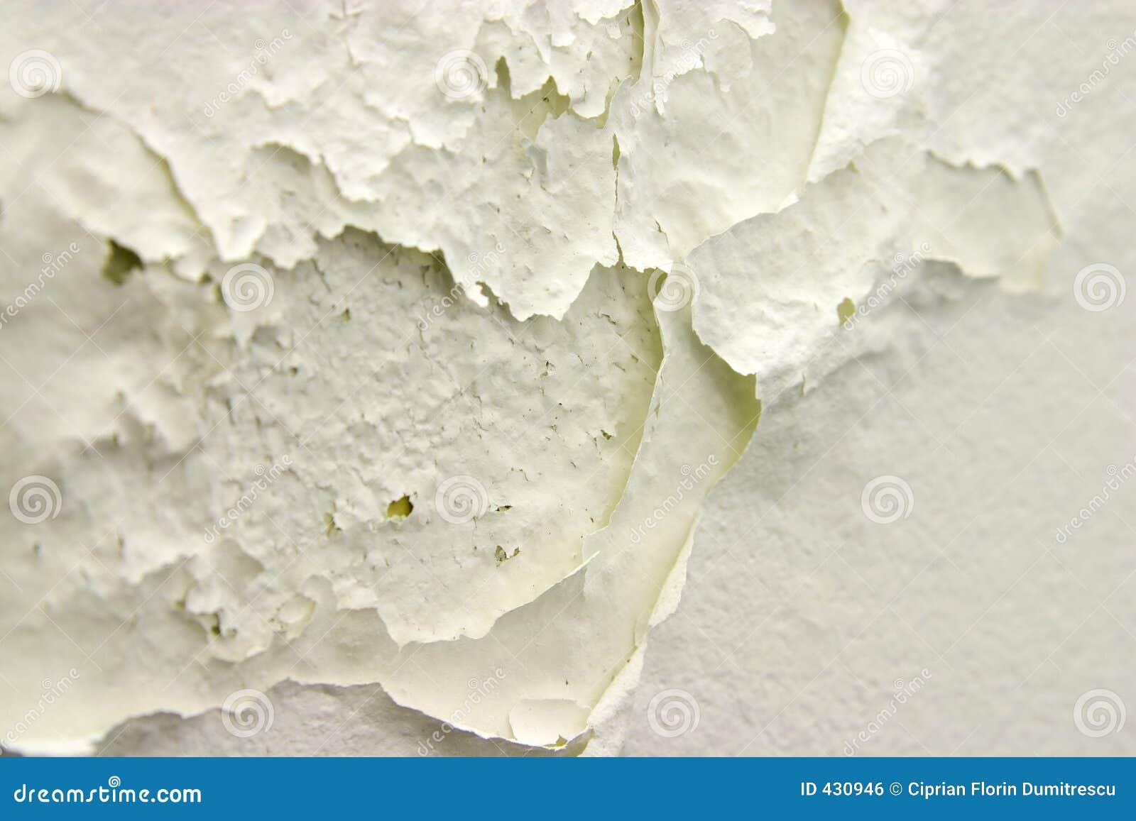 Corrosión de la pared