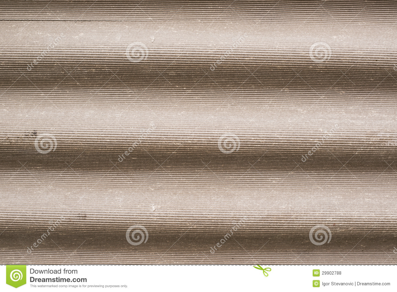 Corrugated Asbestos Cement Roof Royalty Free Stock Photos