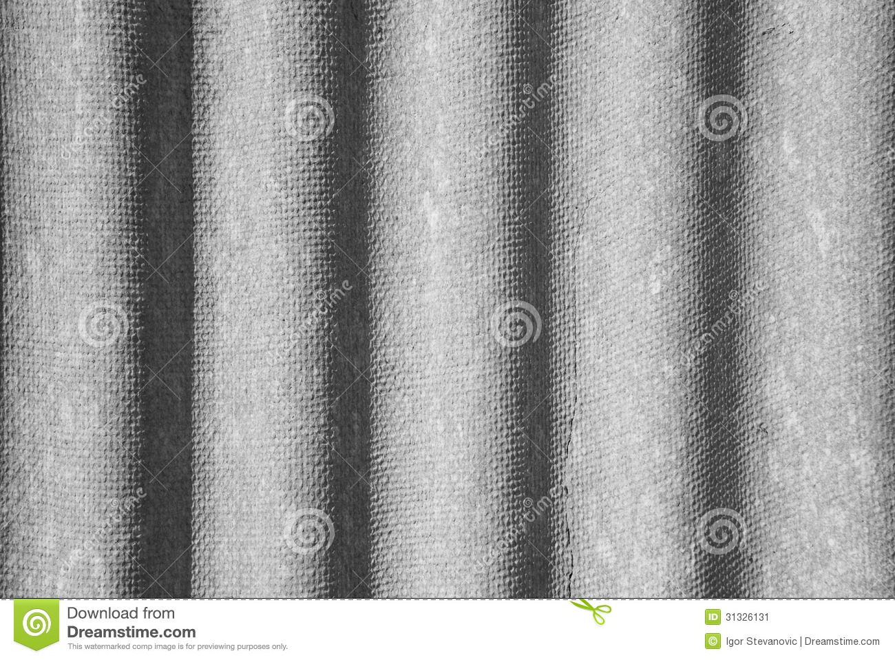 Corrugated Asbestos Cement Roof Stock Image Image 31326131