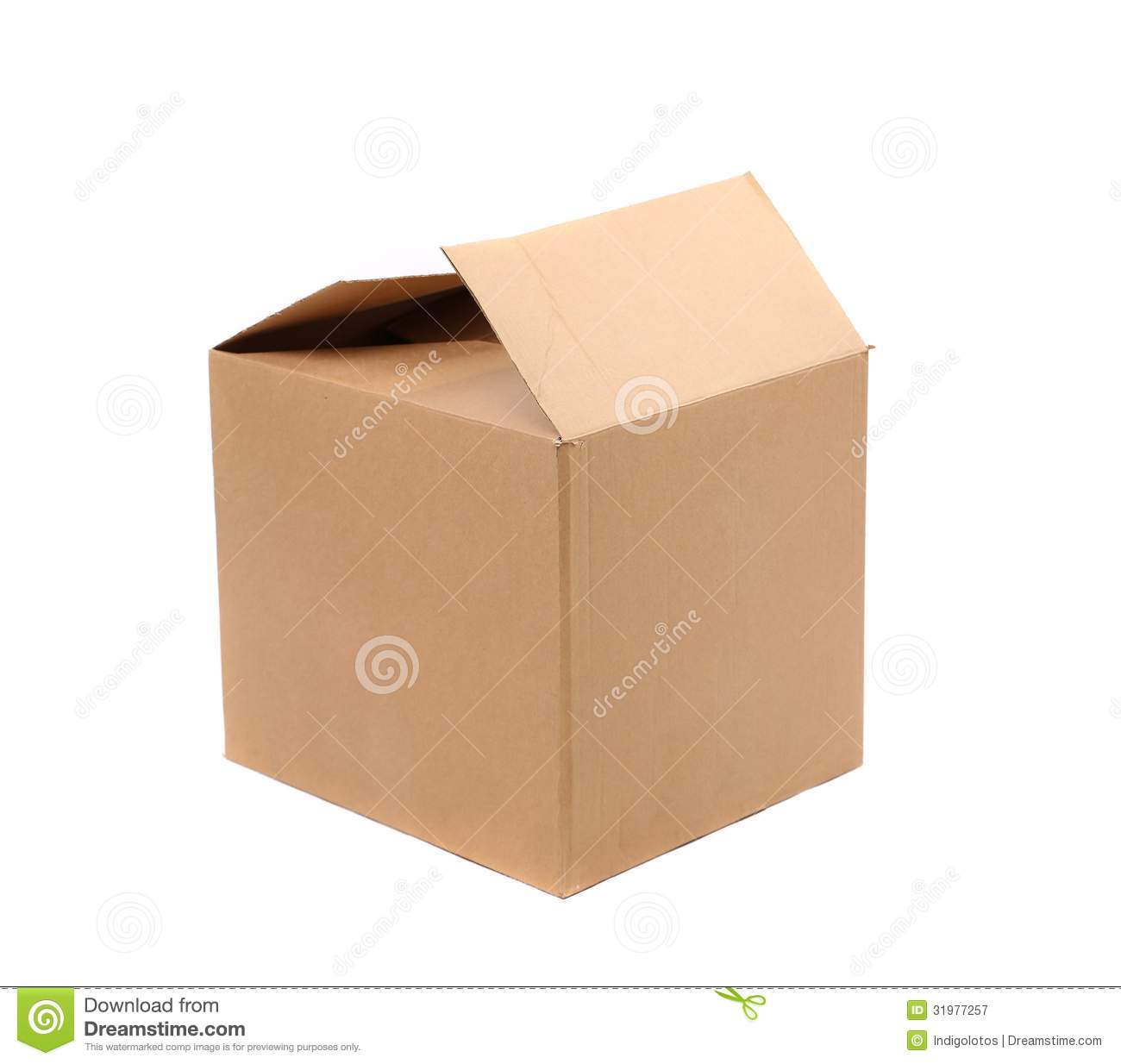 Corrugated Cardboard Boxes Royalty Free Stock Photography - Image ...