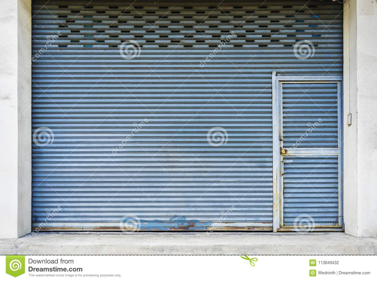 Industrial garage door texture Wall Warehouse Corrugated Metal Sheetslide Door roller Shutter Texture Dreamstimecom Corrugated Metal Sheetslide Door roller Shutter Texture Stock
