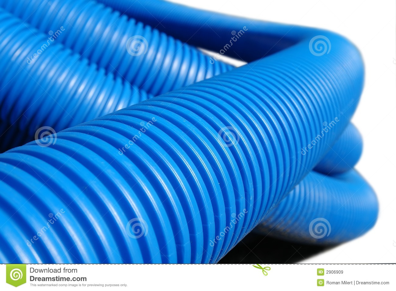 Corrugated plastic pipe royalty free stock images image for Plastic plumbing pipes