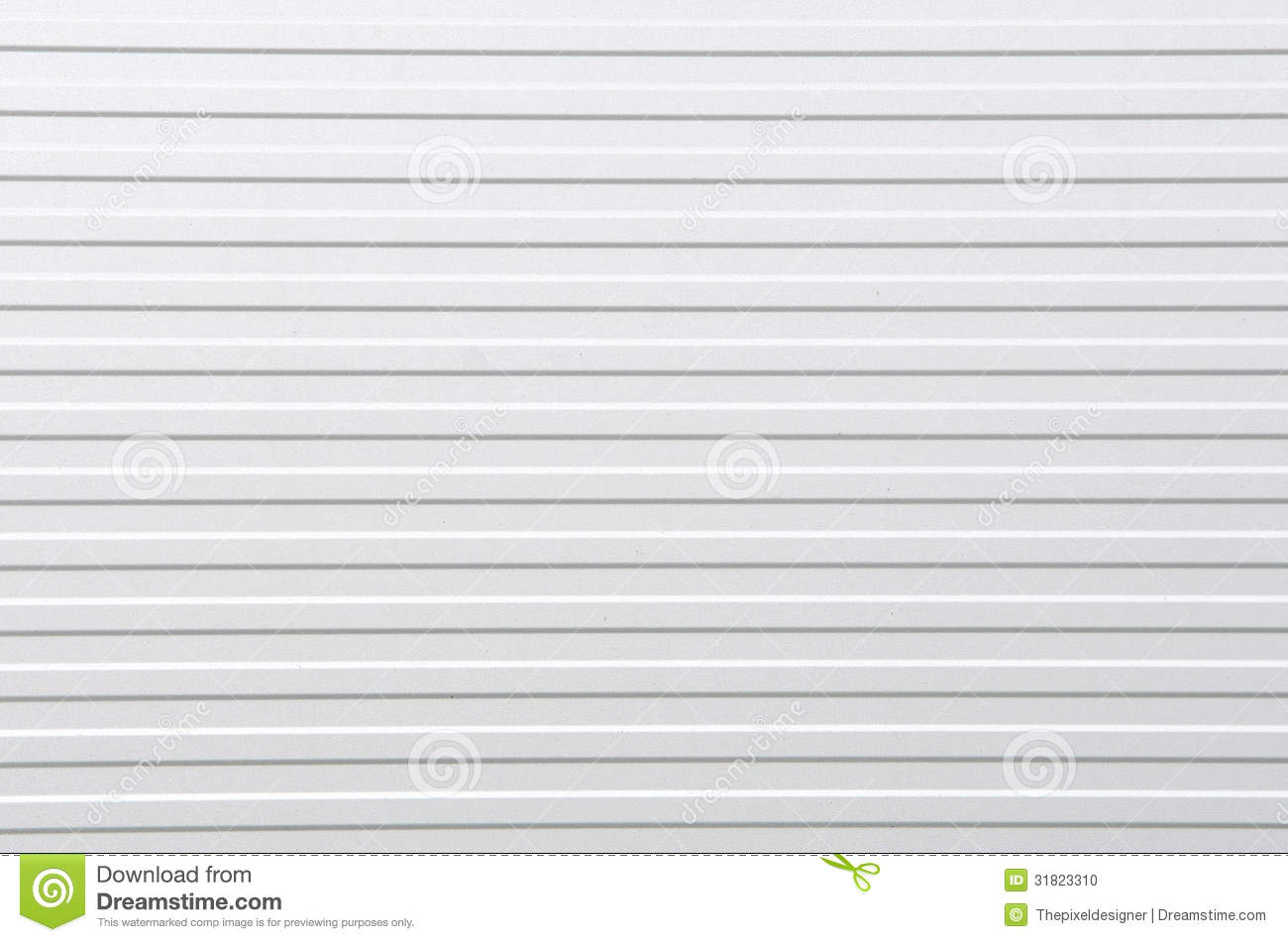 Corrugated sheet texture or background high resolution color image