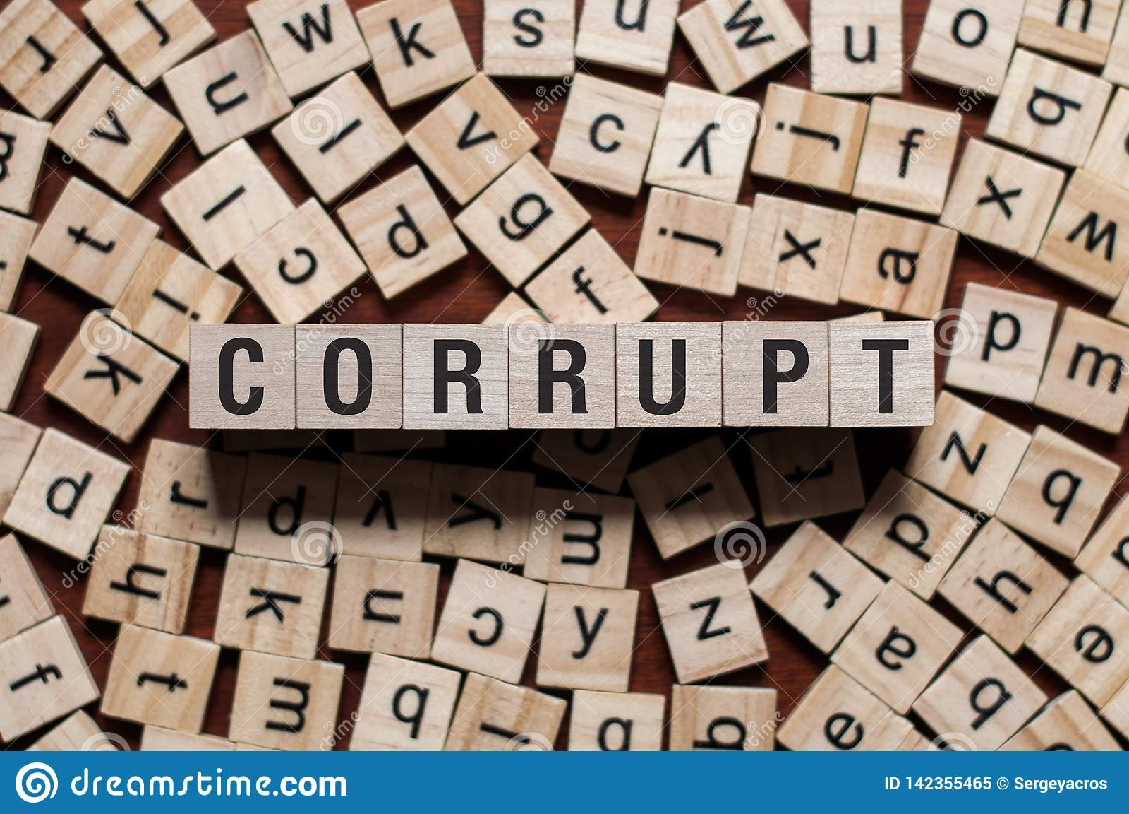 Corrupt word concept