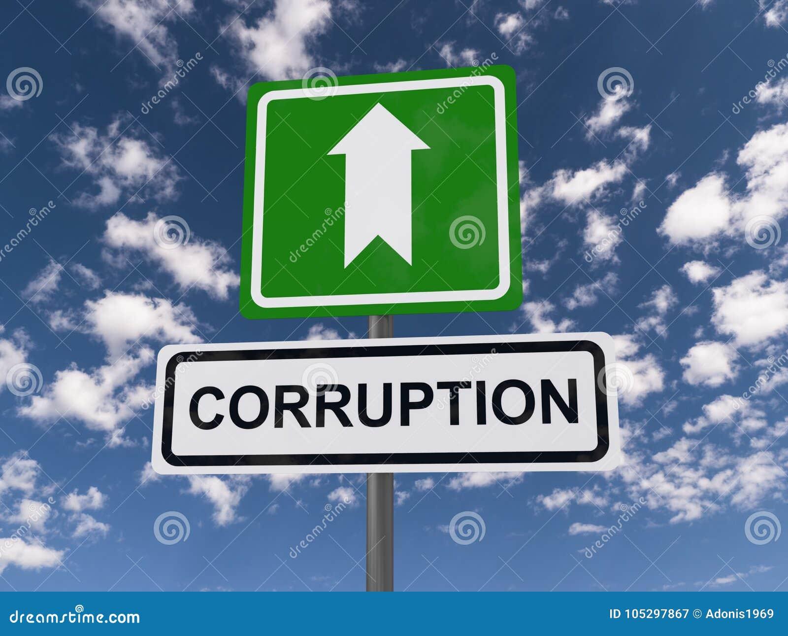 Corruption de cette façon