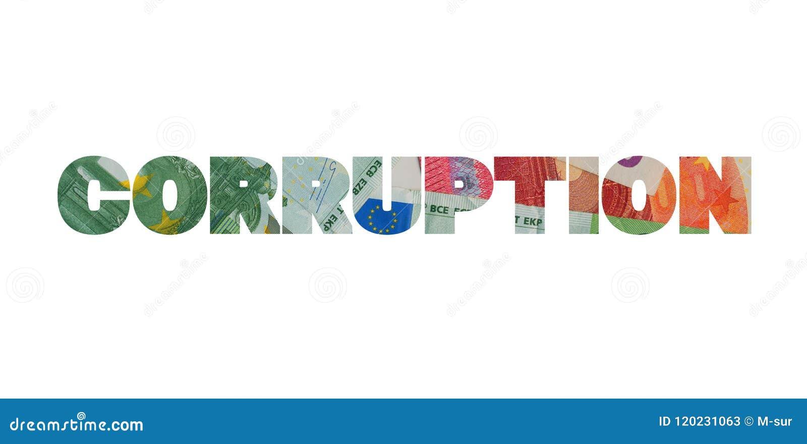 Corruption et euro