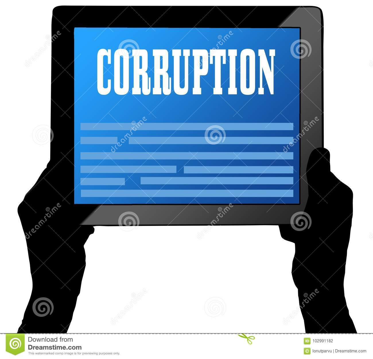 note on corruption