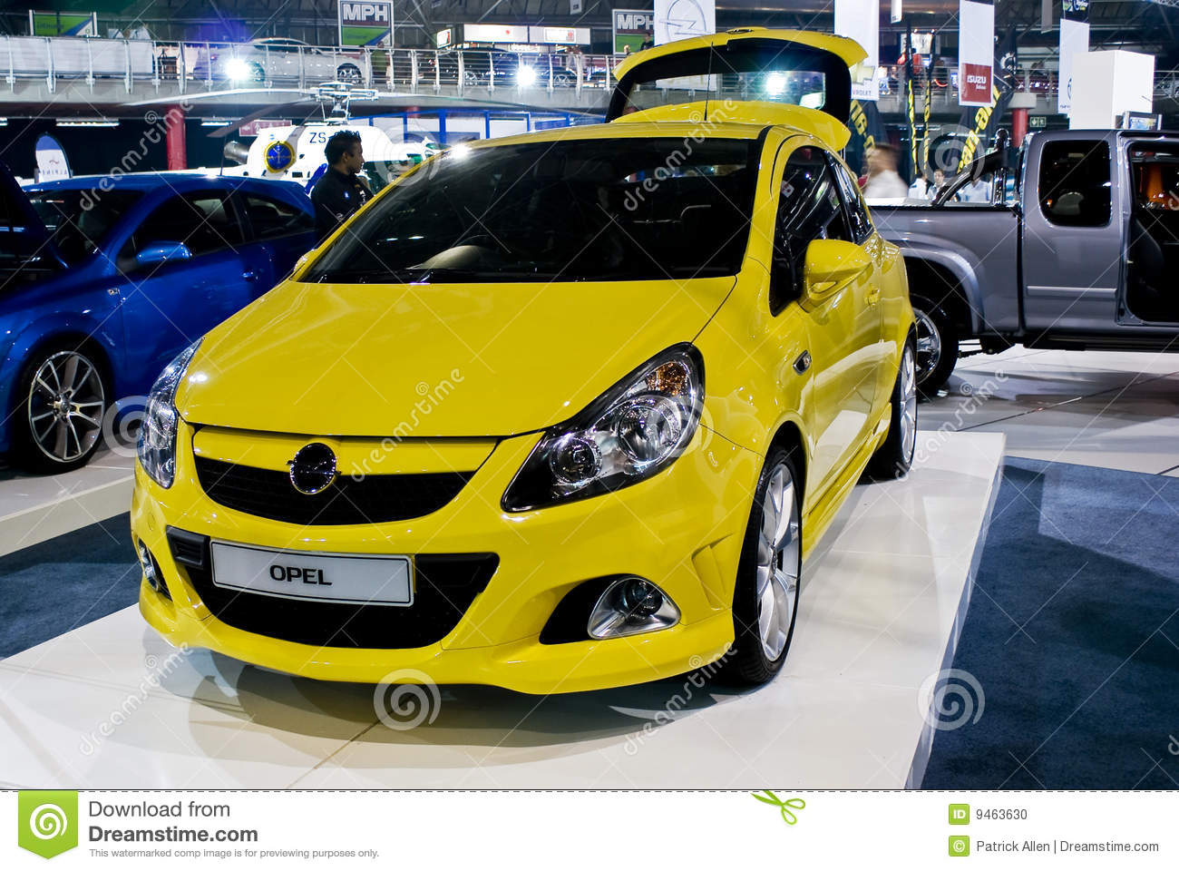 Corsa coupe front mph opel