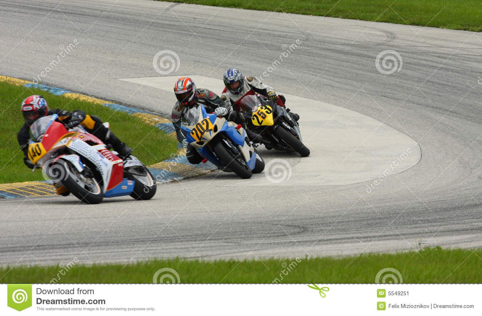 Corsa del GP di Moto
