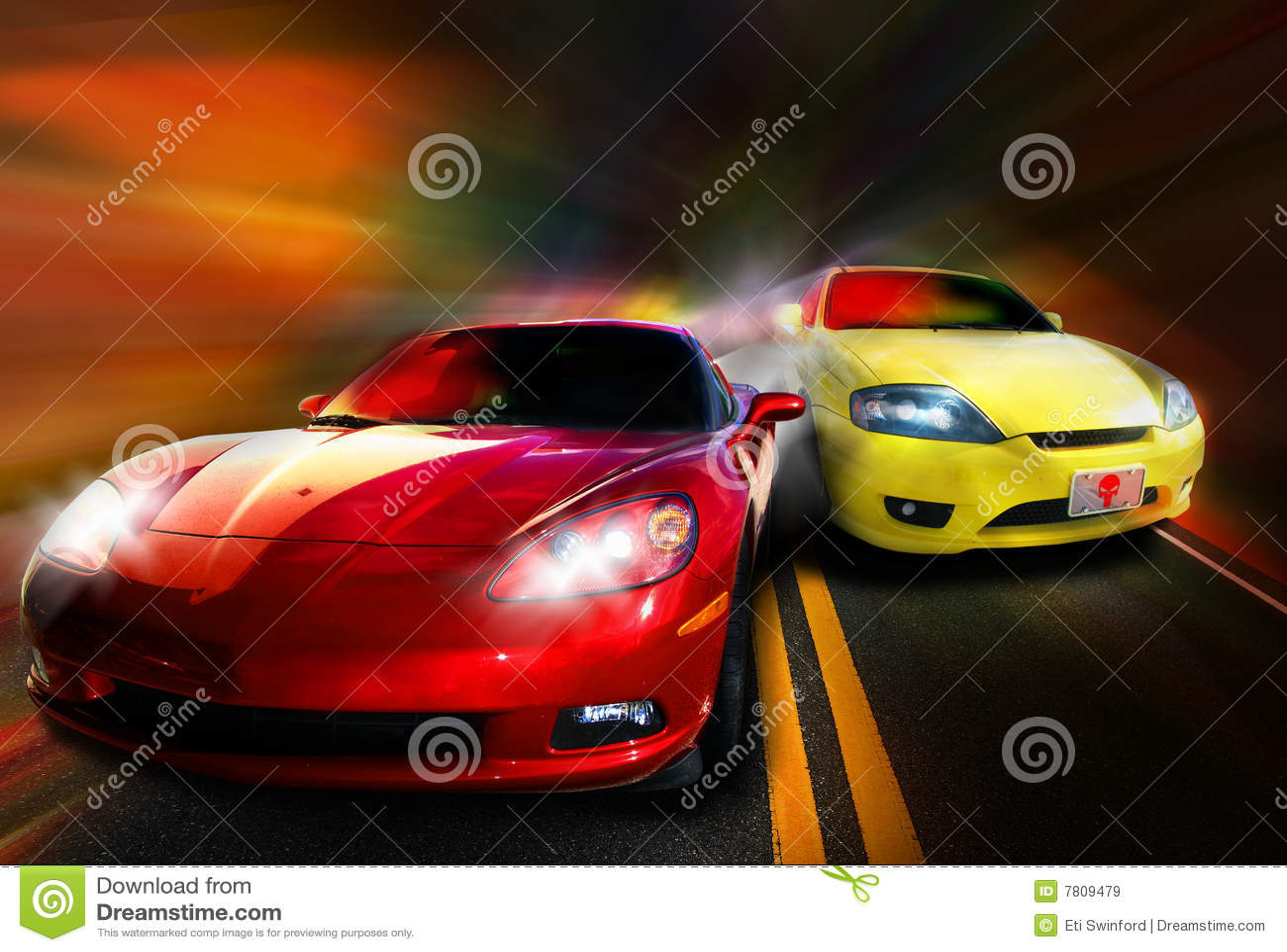 Corsa di automobili