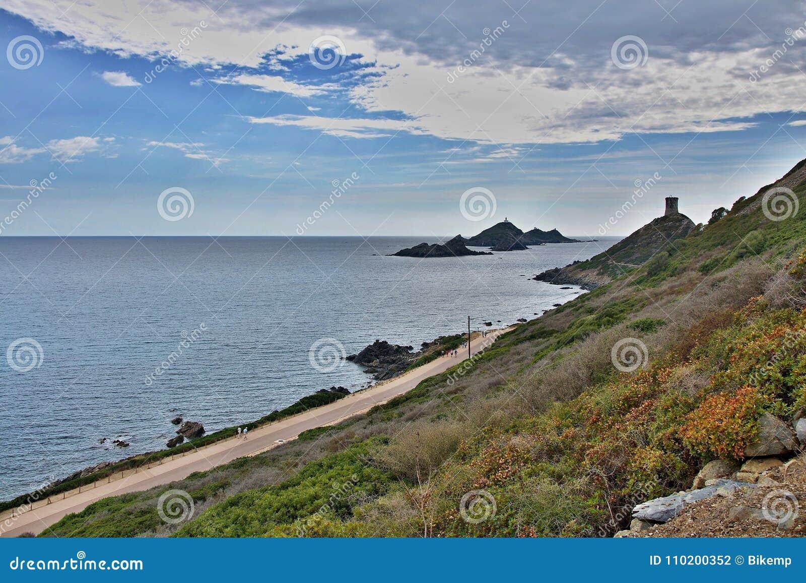 Corsica-Parata cape and islands Iles Sanguinaires