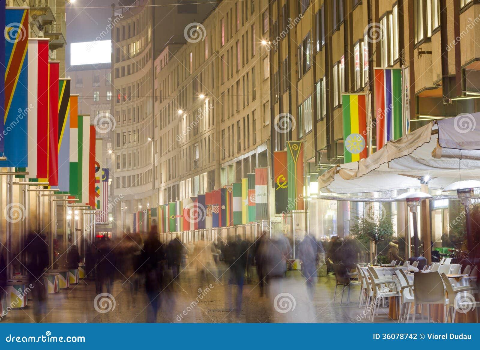 Corso Vittorio Emanuele in Milan