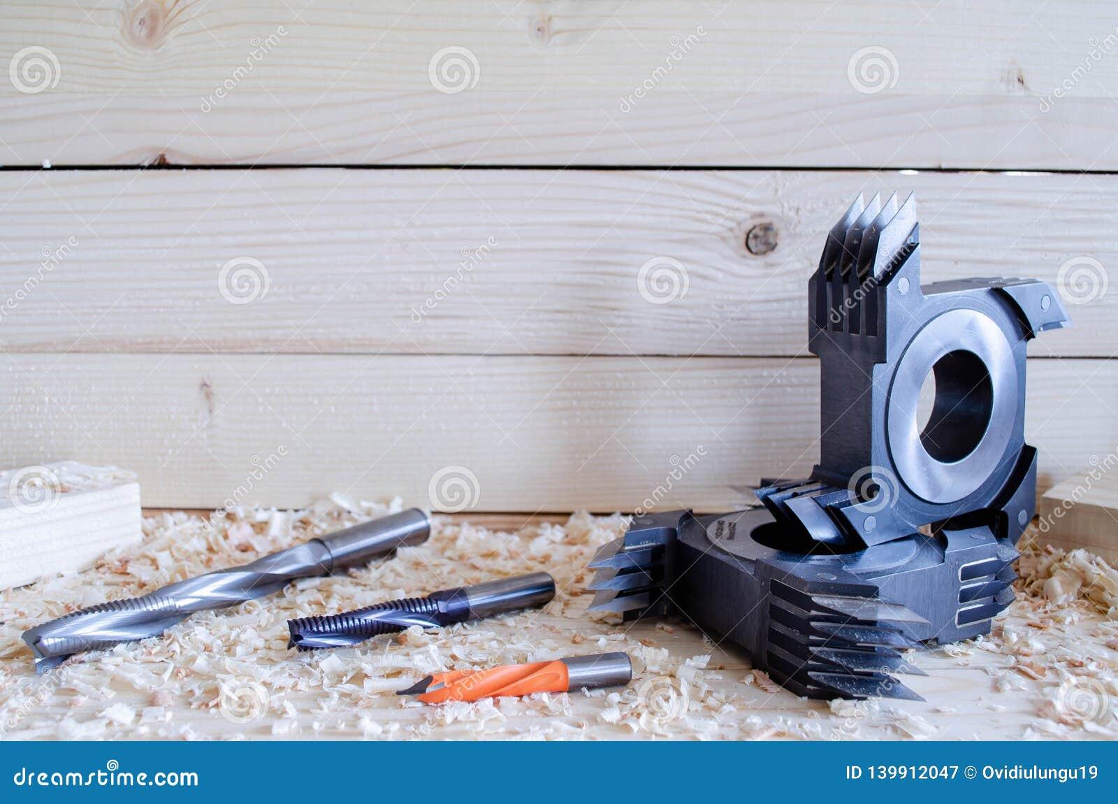 Cortador comum do dedo do CNC para o woodworking industriy