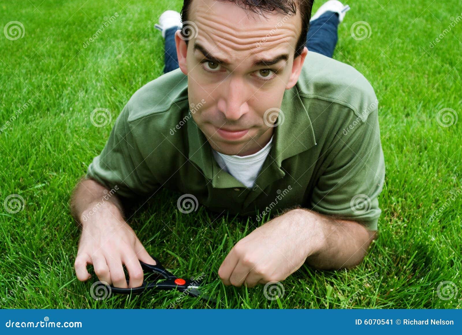 Cortar la hierba imagen de archivo imagen de clip - Cortar hierba alta ...