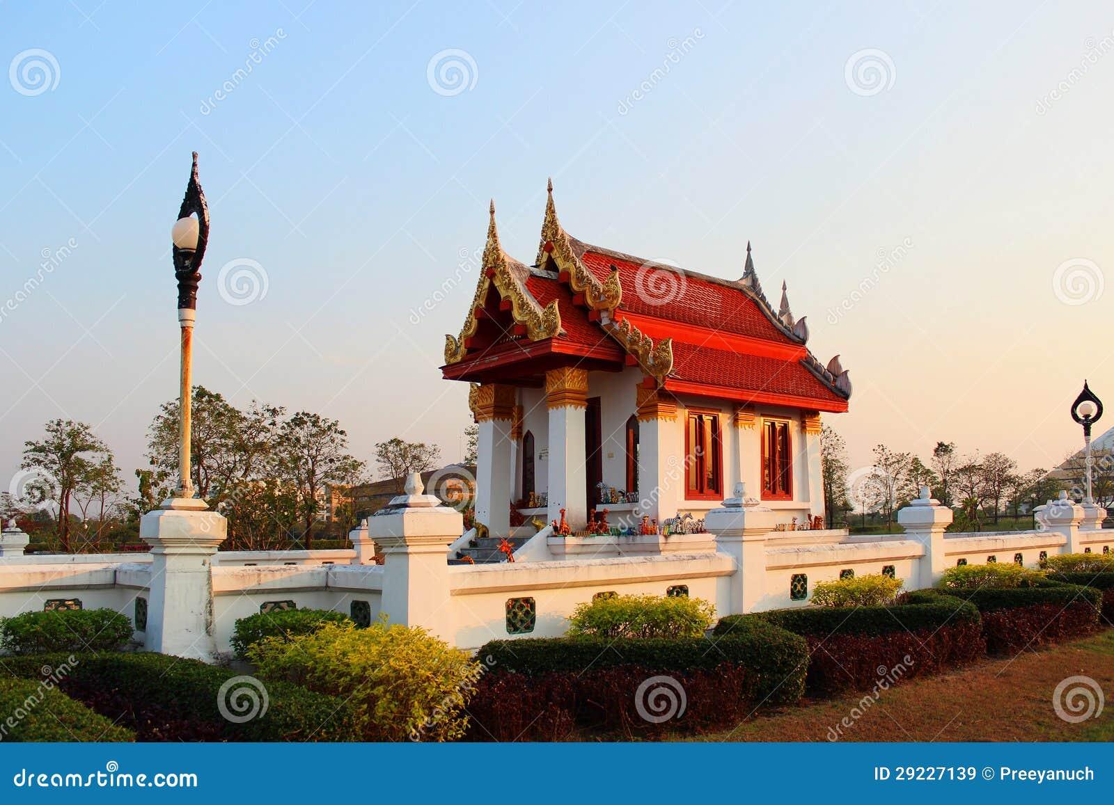 Download Corte imagem de stock. Imagem de tabernacle, thai, azul - 29227139