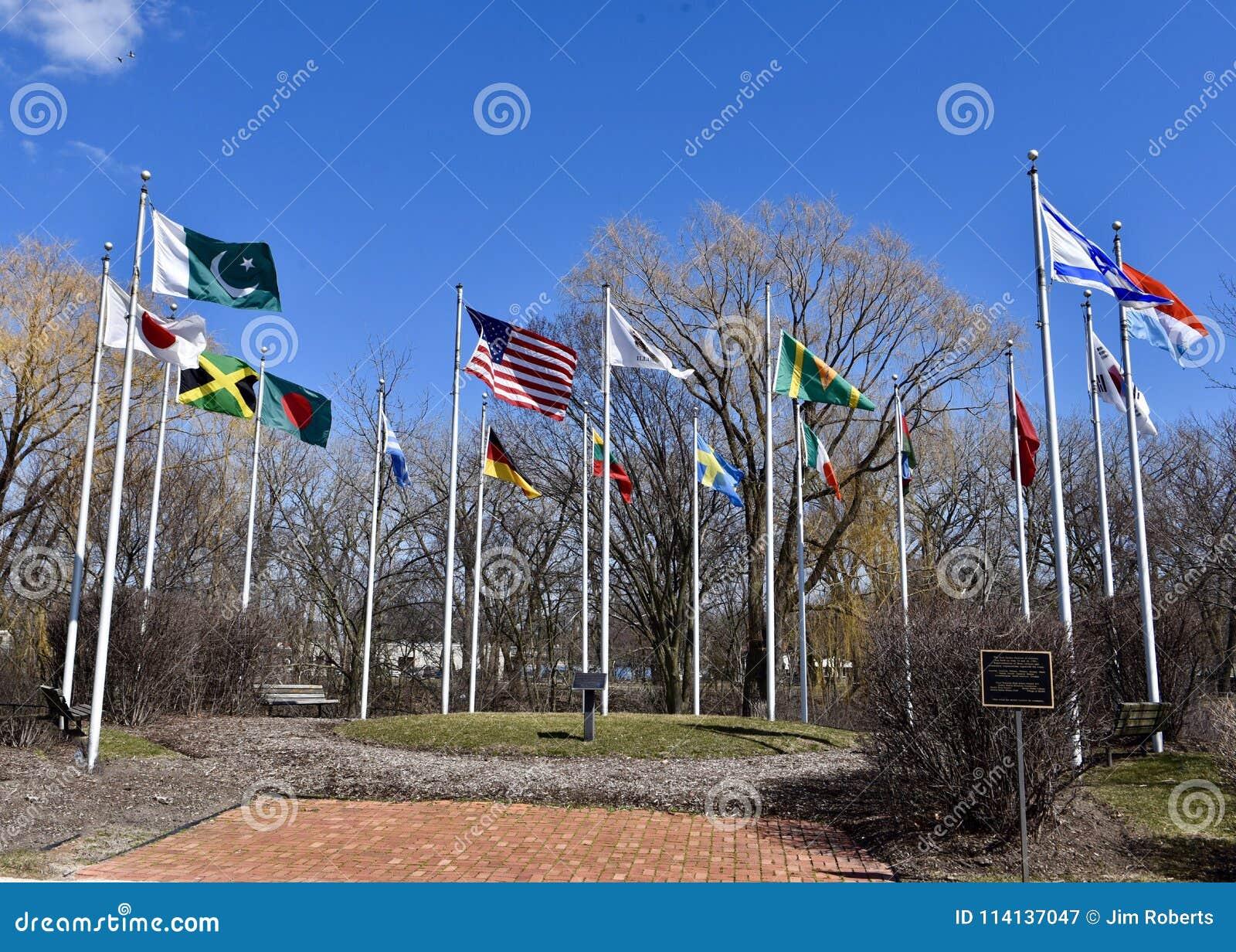Corte das bandeiras