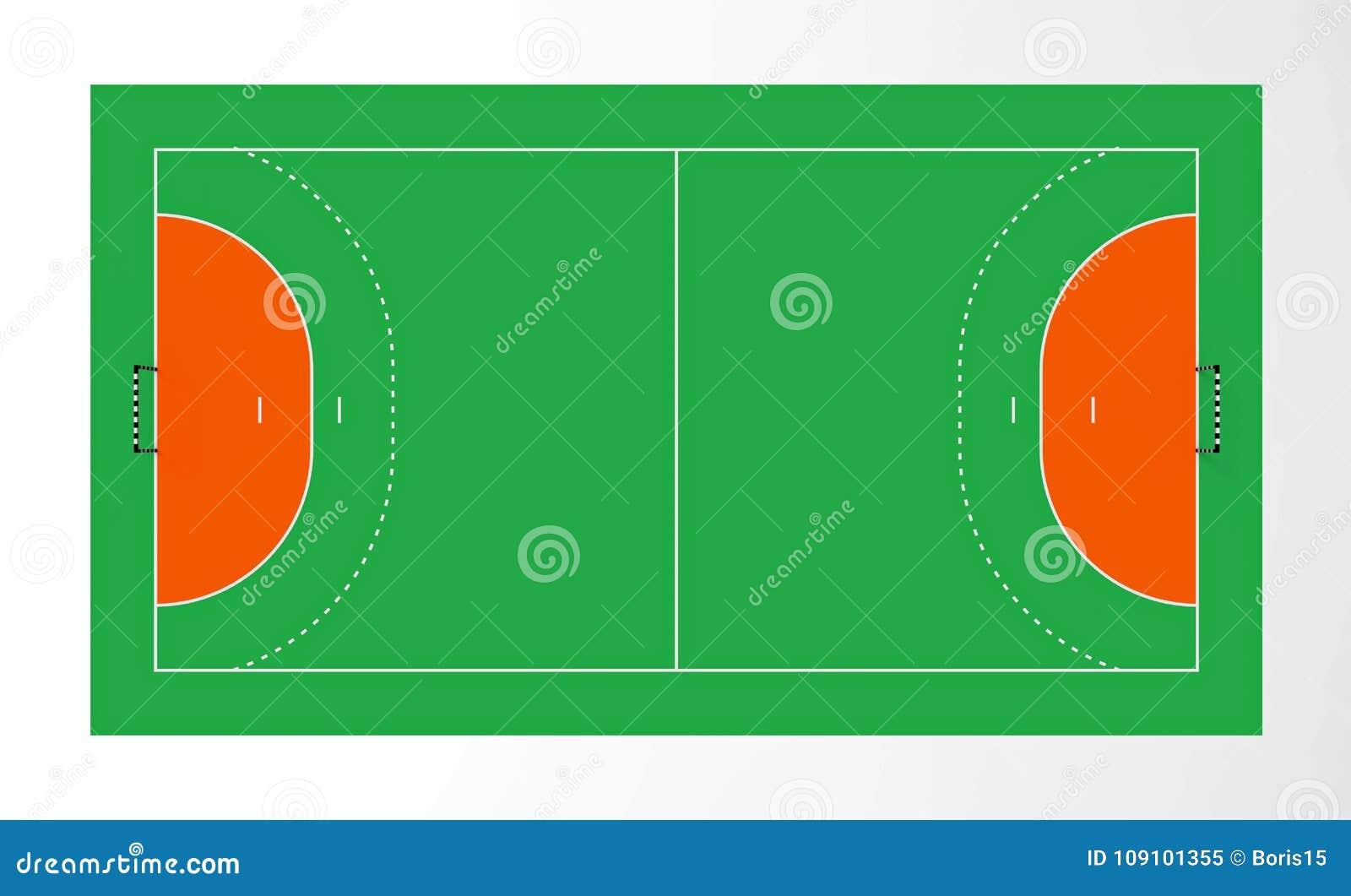 Corte de balonmano