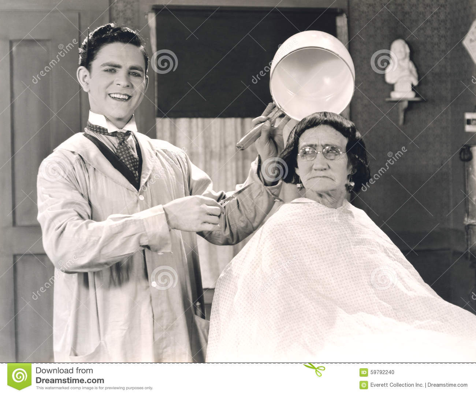 Corte de pelo del cuenco