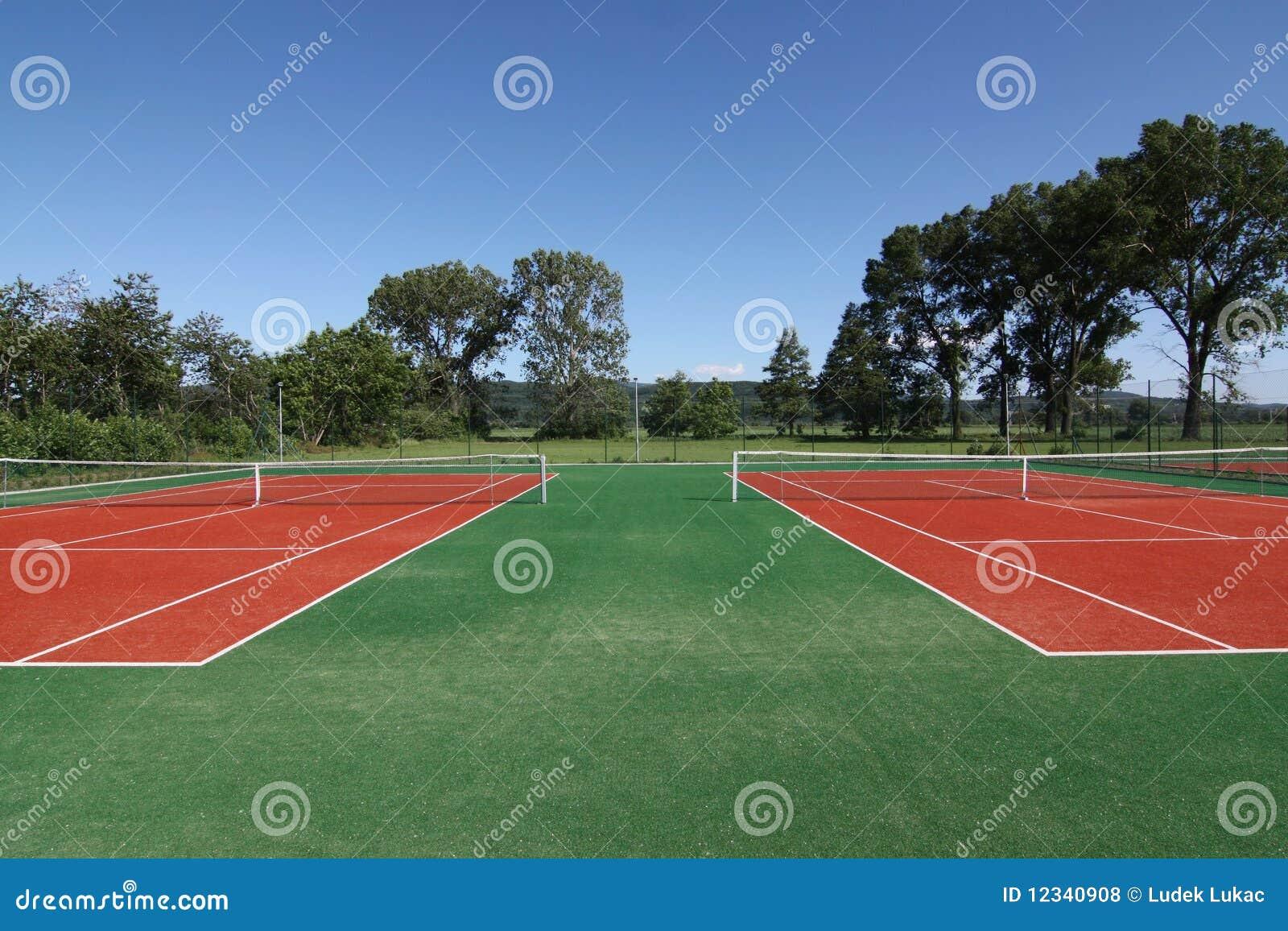 Corte de tênis