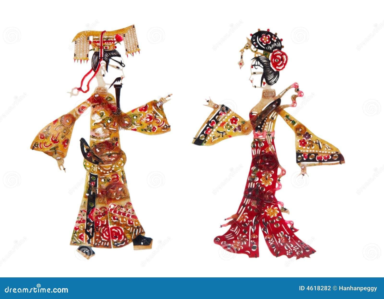 Corte del papel chino