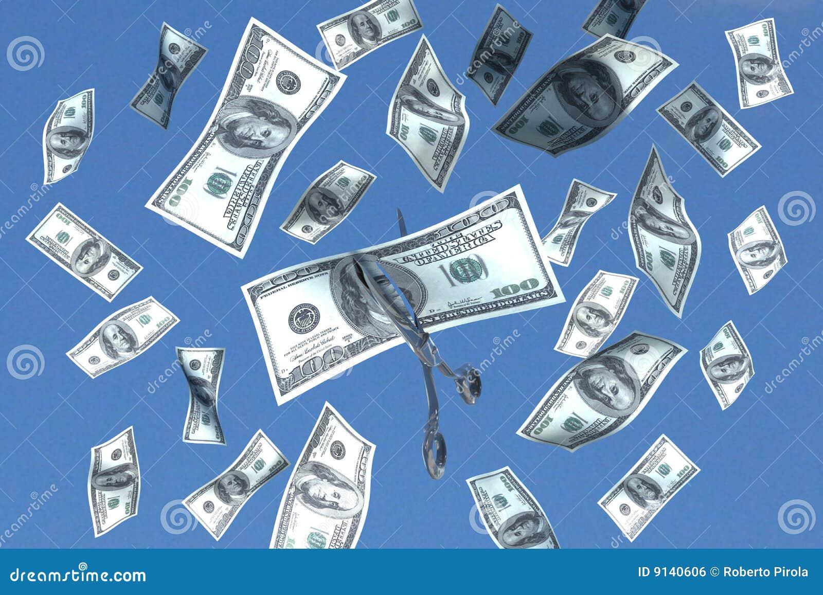 Corte do dinheiro