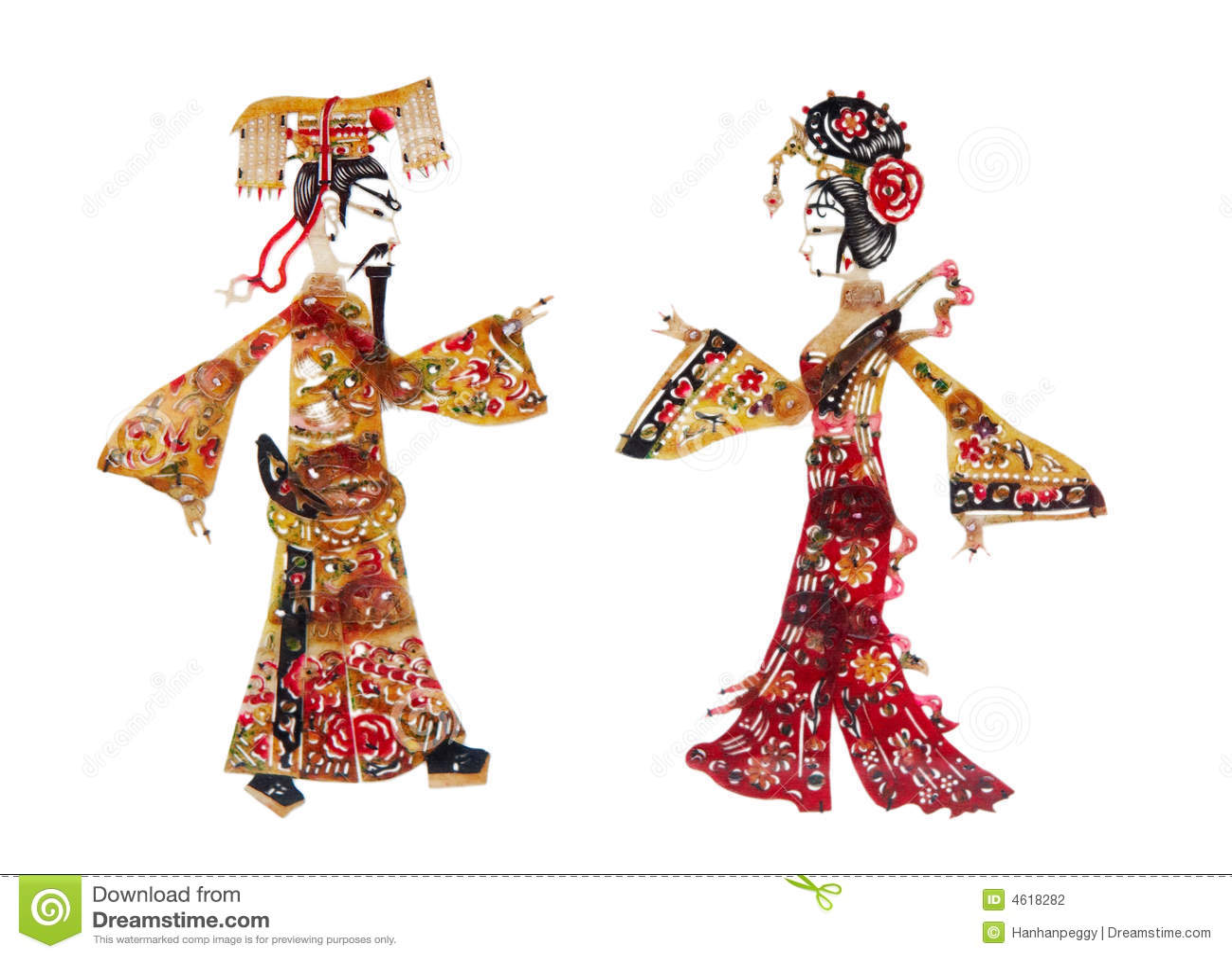 Corte do papel chinês