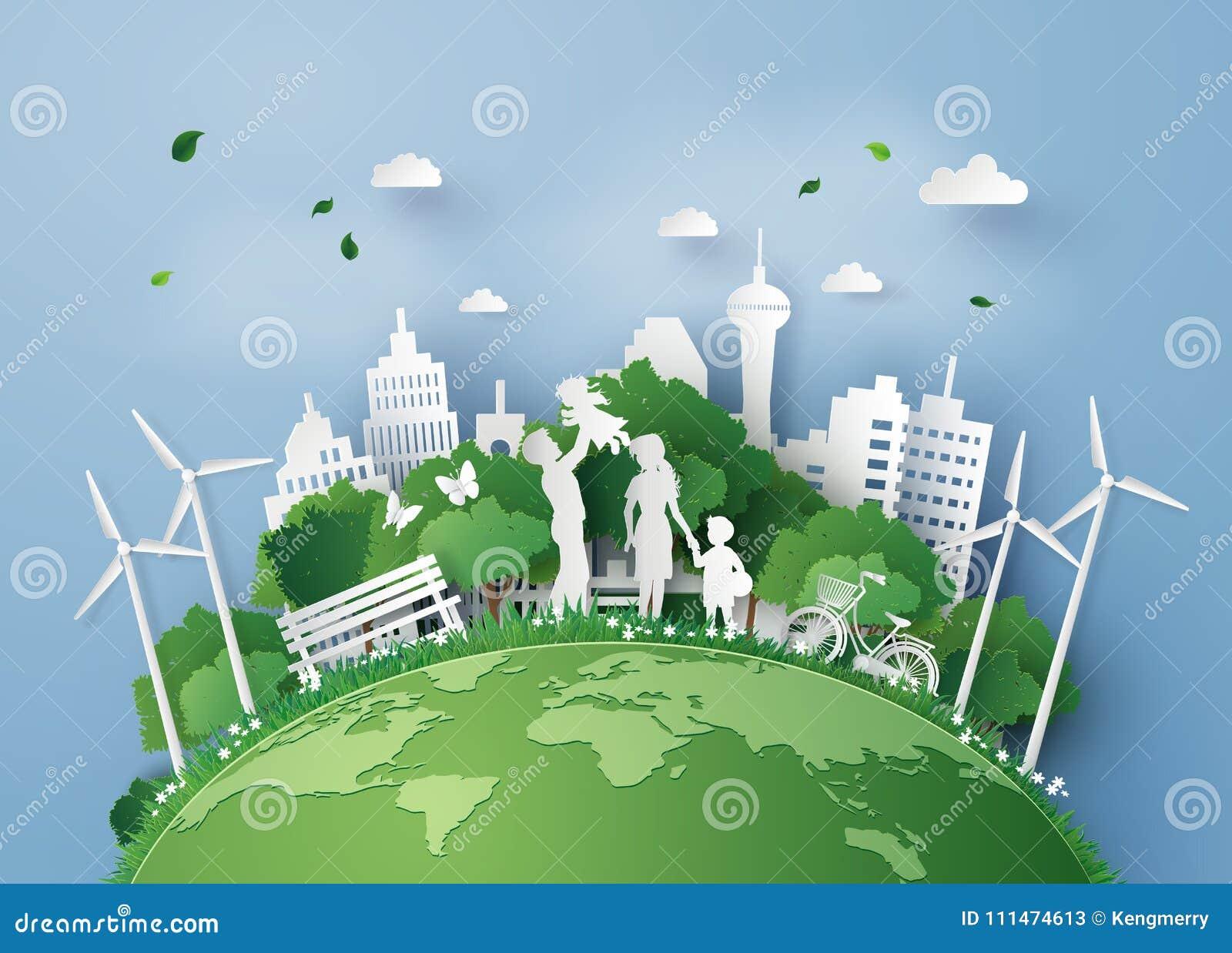 Corte do papel do eco