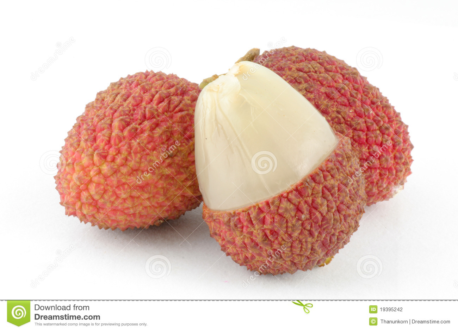 Corte el lychee