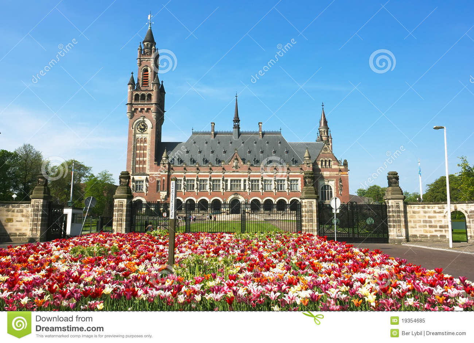 Corte Internacional de Justiça ICJ do palácio da paz
