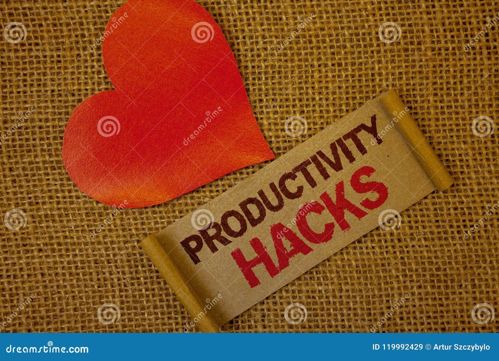 Cortes de la productividad del texto de la escritura de la palabra El concepto del negocio para cortar método de la solución incl