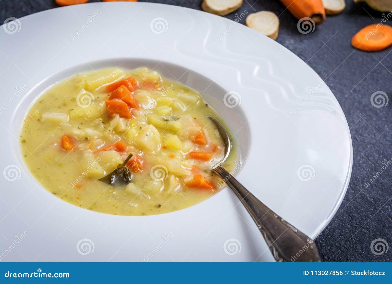 Cortes de la zanahoria