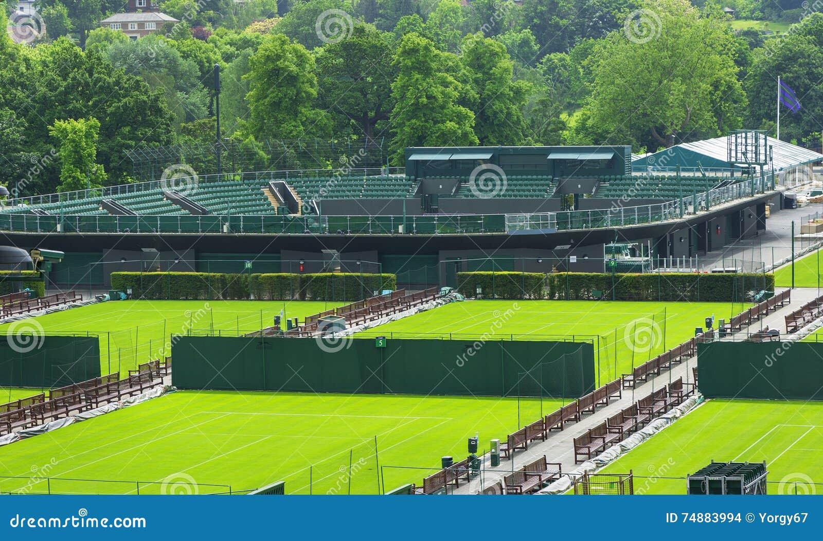 Corti di visita di Wimbledon