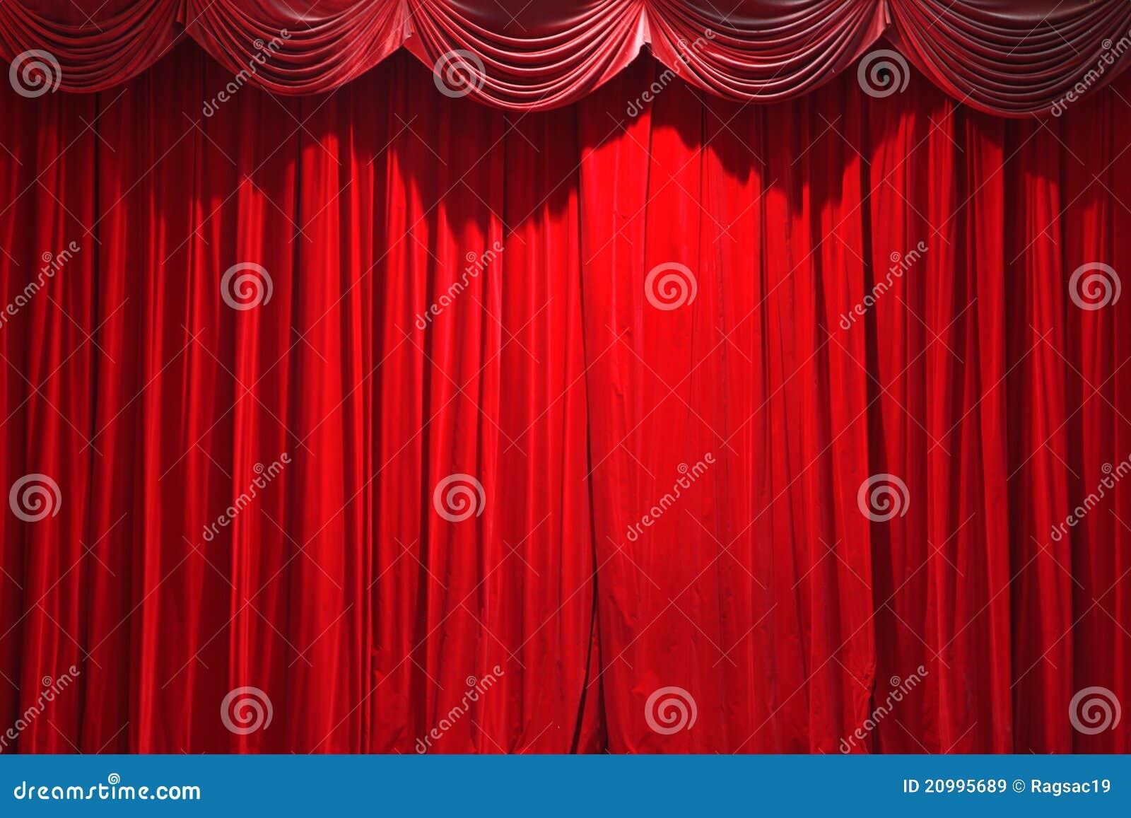 Cortina de un teatro clásico